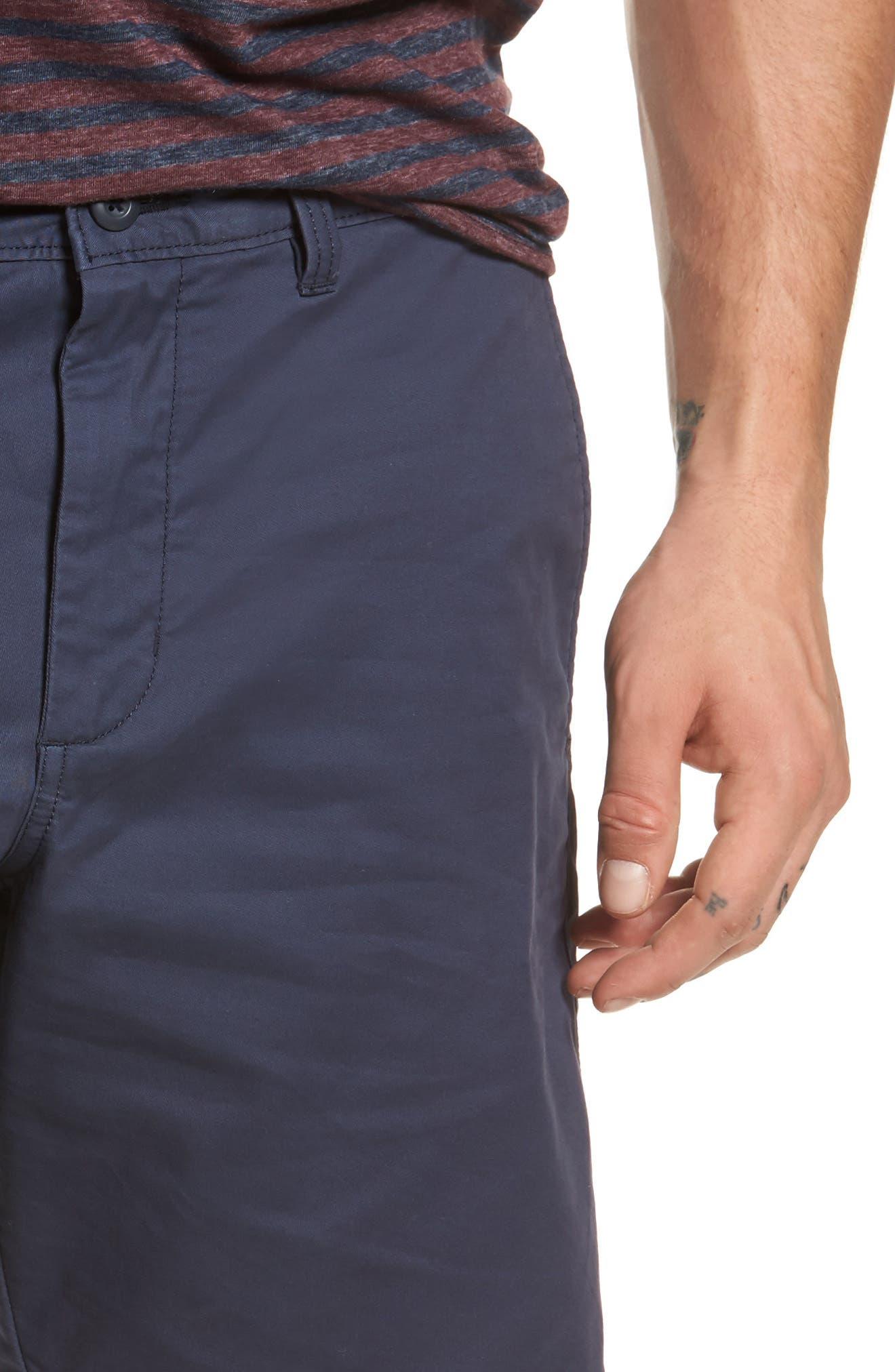 Ballard Slim Fit Stretch Chino 9-Inch Shorts,                             Alternate thumbnail 43, color,