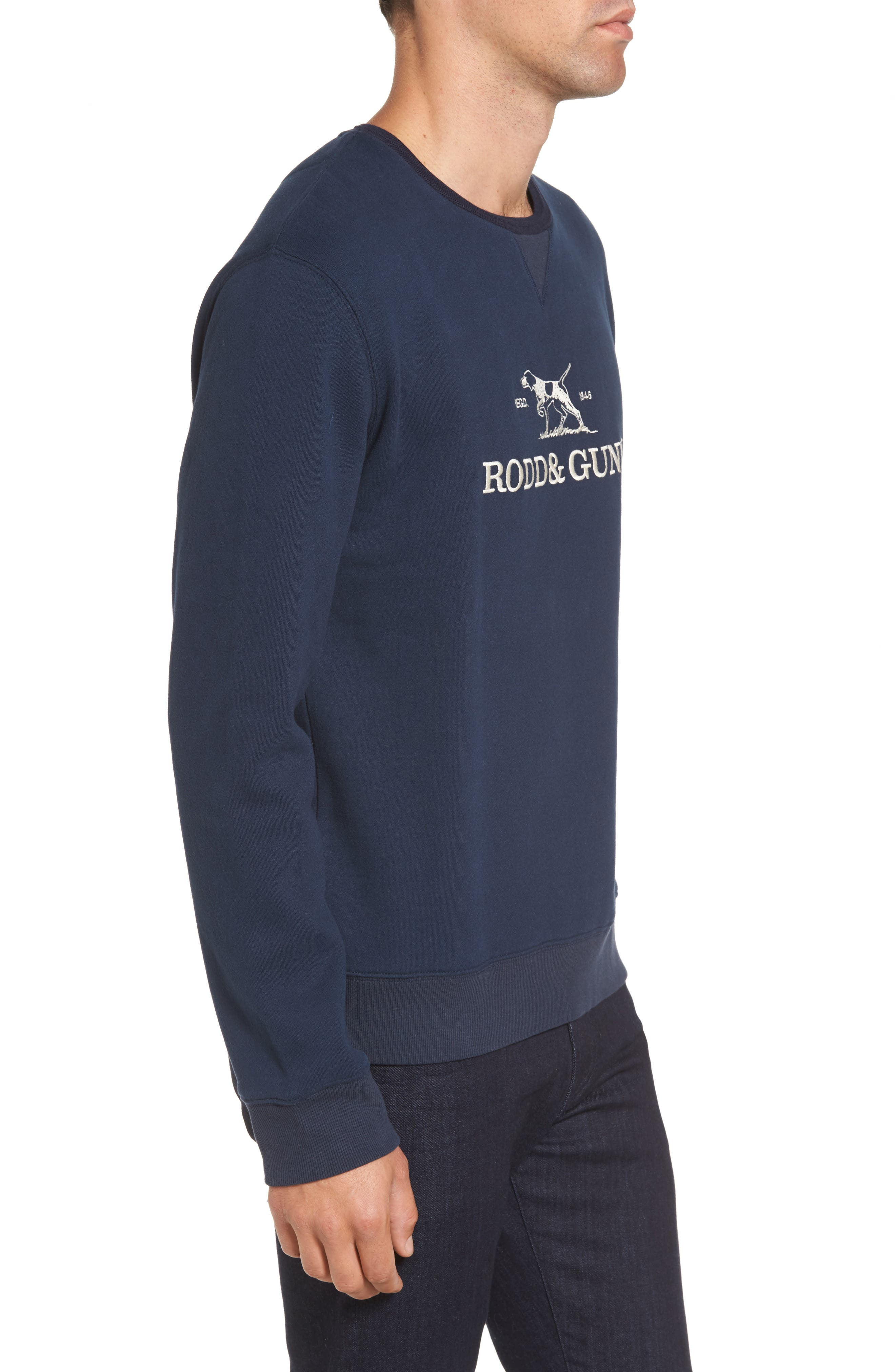 Auckland Logo Embroidered Sweatshirt,                             Alternate thumbnail 9, color,