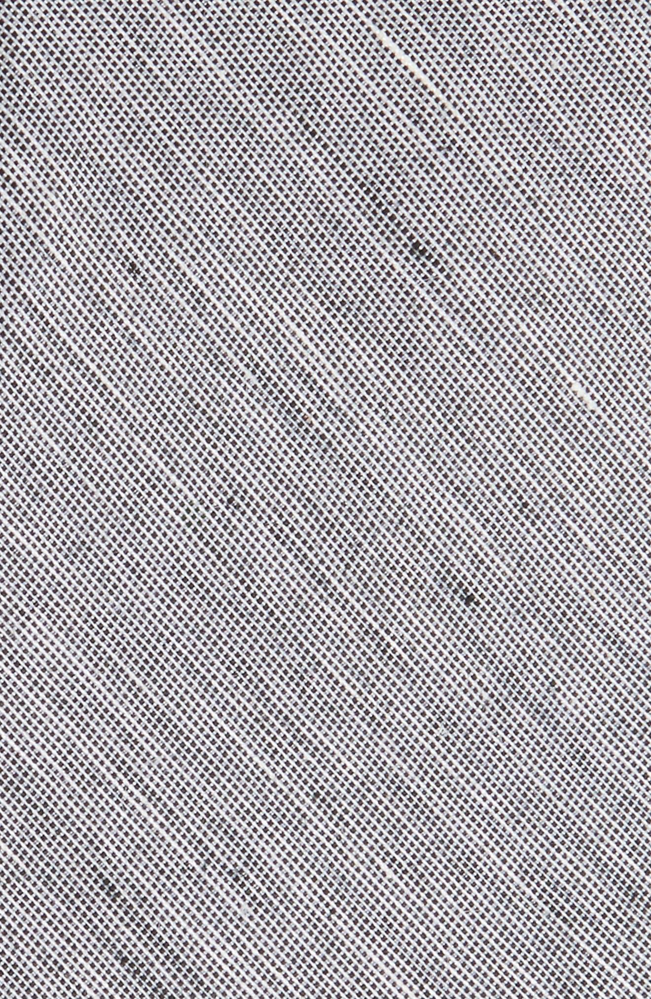 Adena Solid Silk Blend Skinny Tie,                             Alternate thumbnail 2, color,                             001