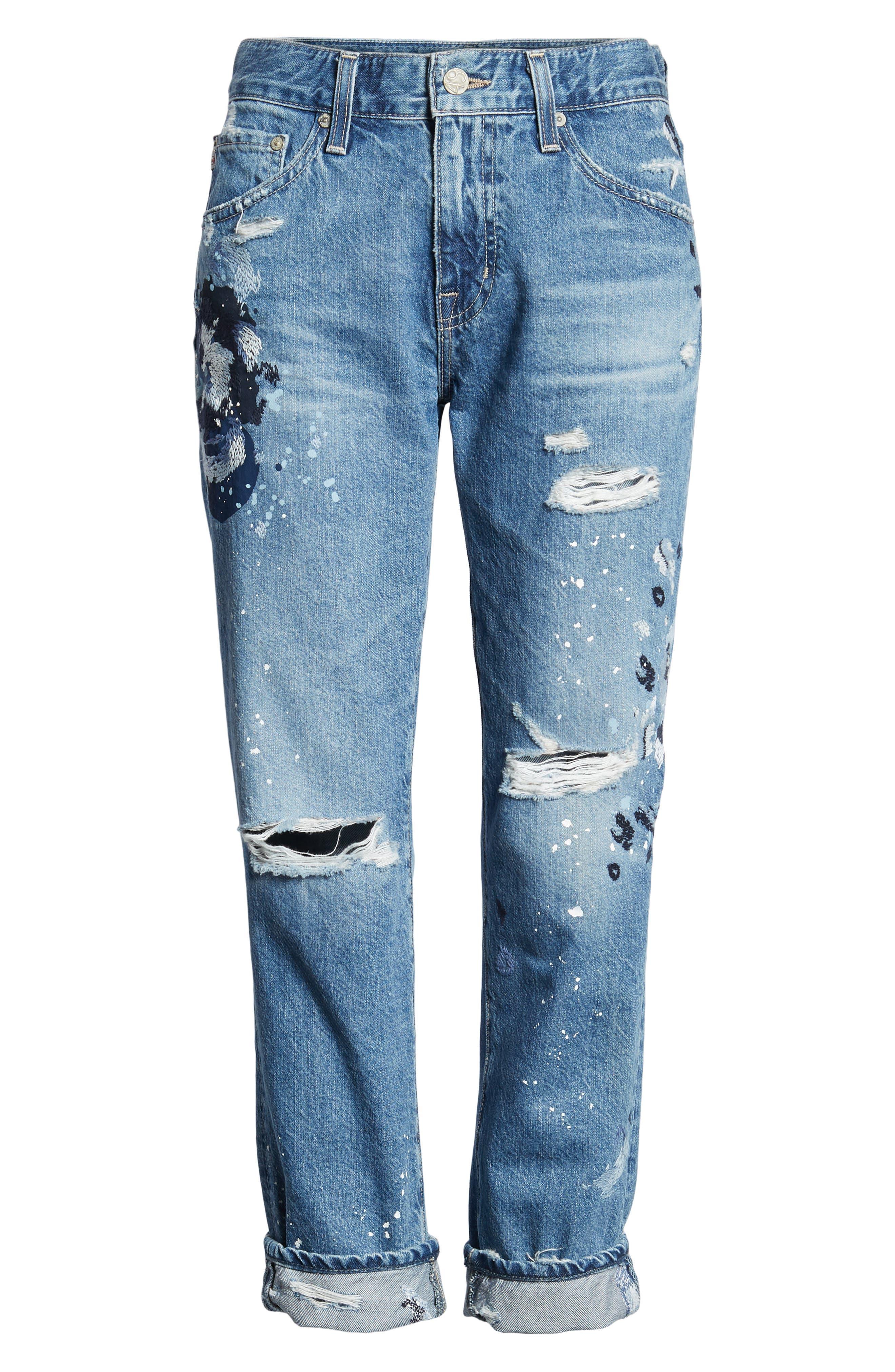 AG,                             The Ex-Boyfriend Slim Jeans,                             Alternate thumbnail 7, color,                             427