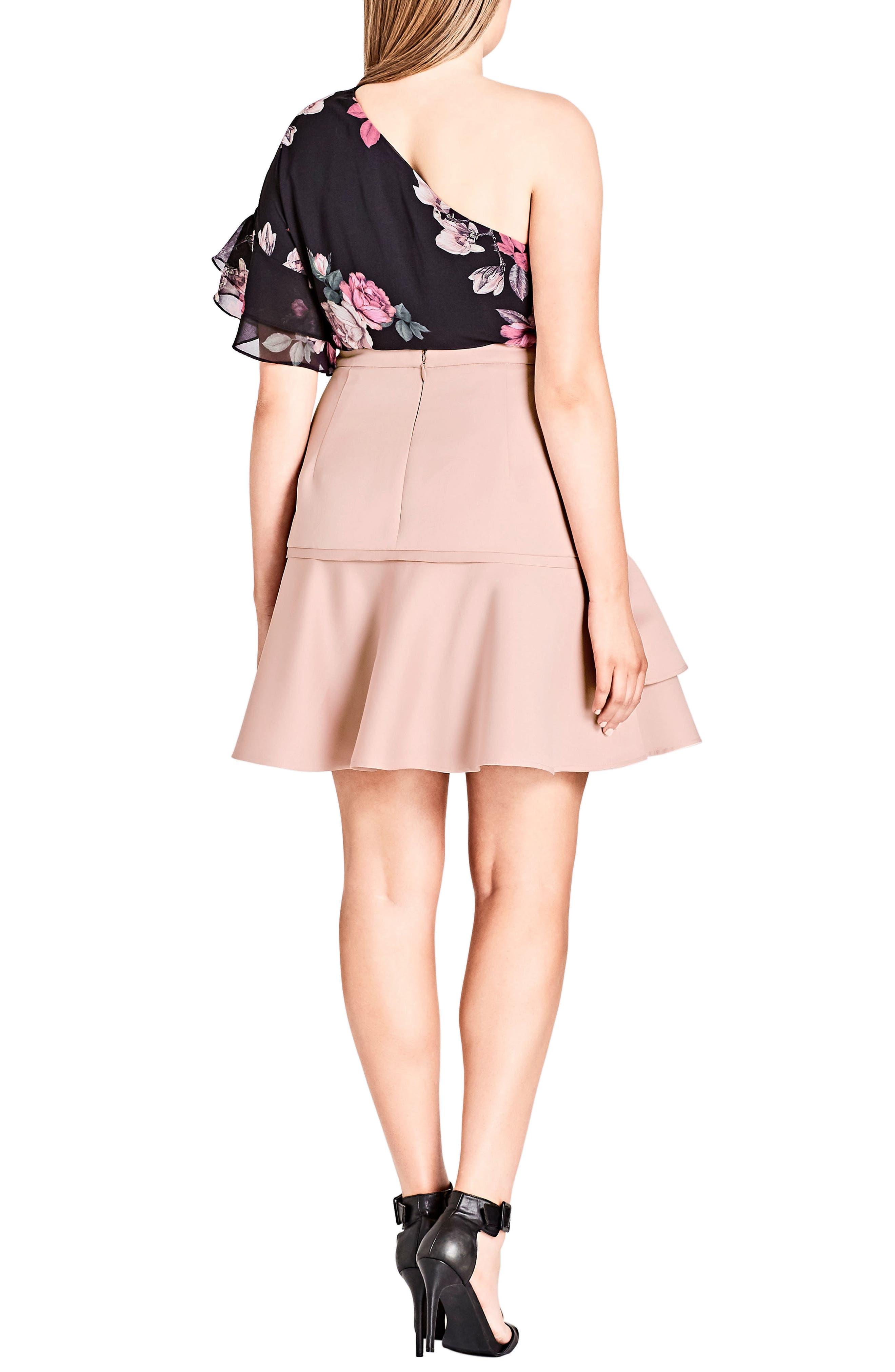 Frill Me Ruffle Skirt,                             Alternate thumbnail 2, color,                             657