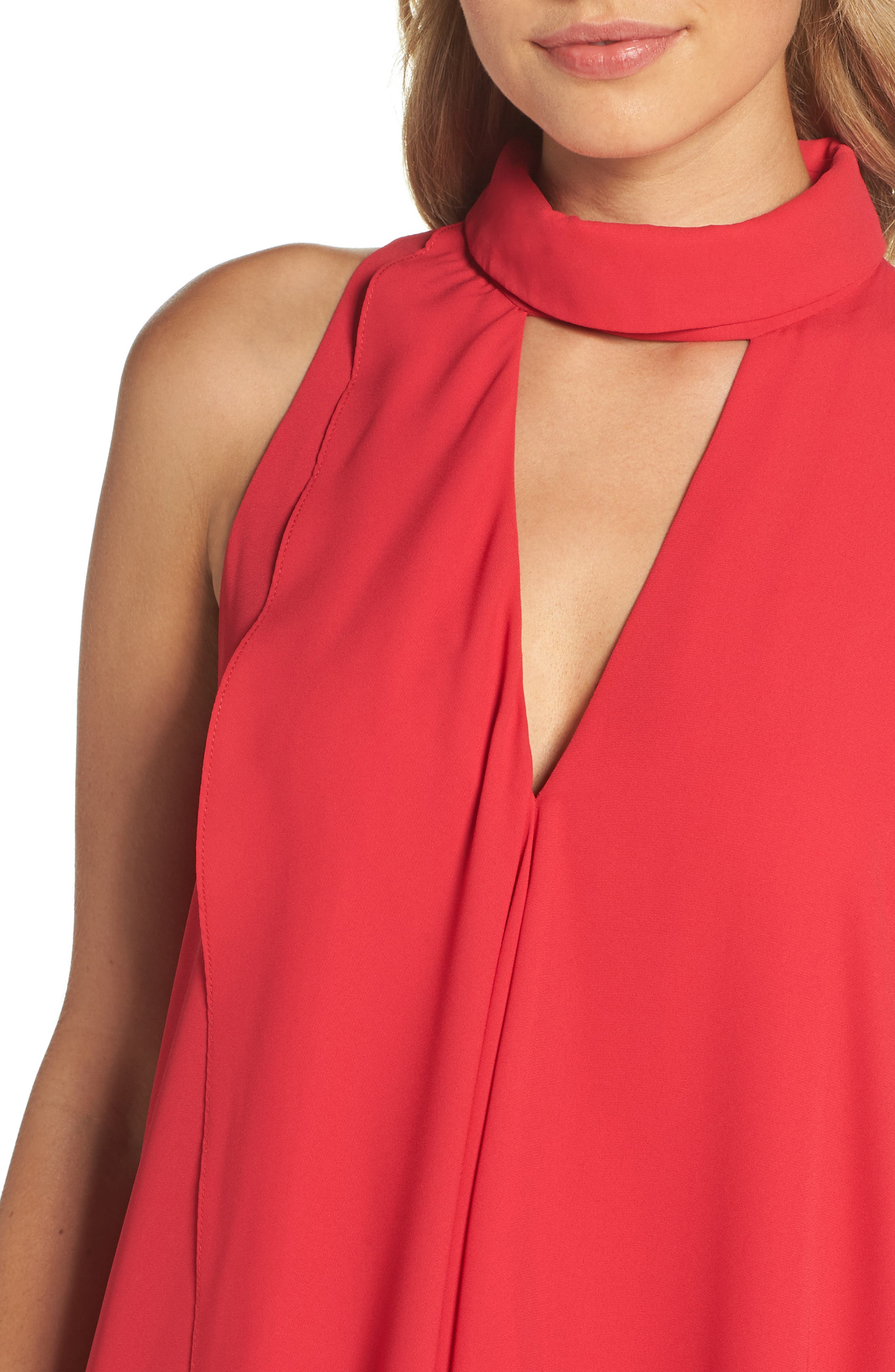 Asymmetric Hem Shift Dress,                             Alternate thumbnail 12, color,