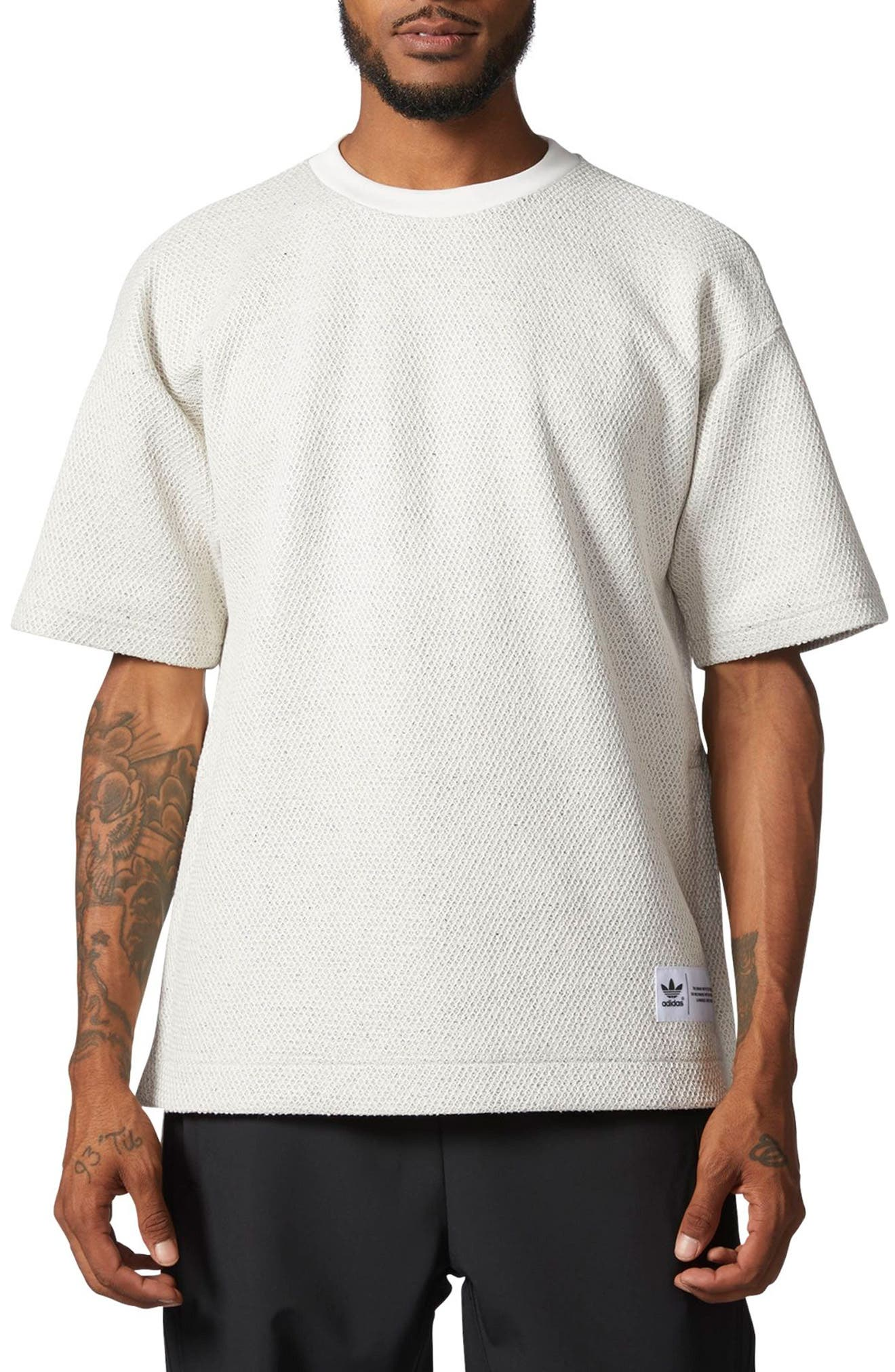 Originals CR8 Mesh Bond T-Shirt,                             Main thumbnail 1, color,