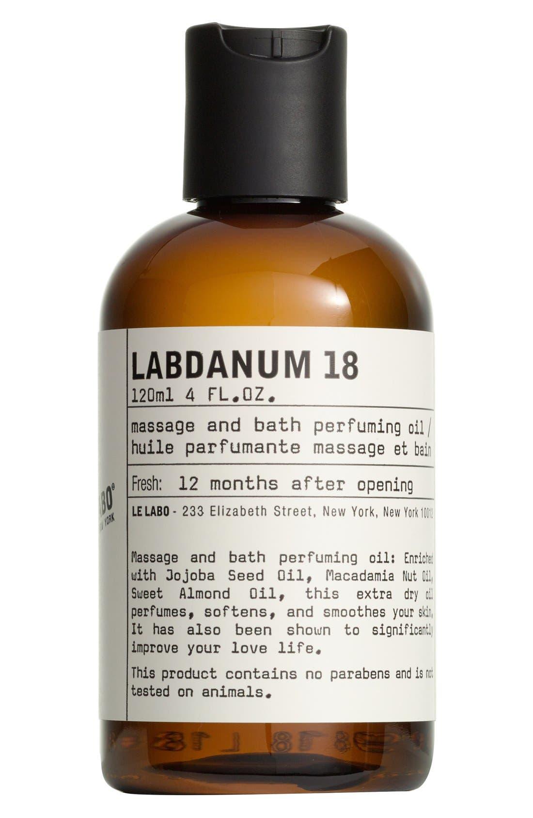 'Labdanum 18' Body Oil,                         Main,                         color,