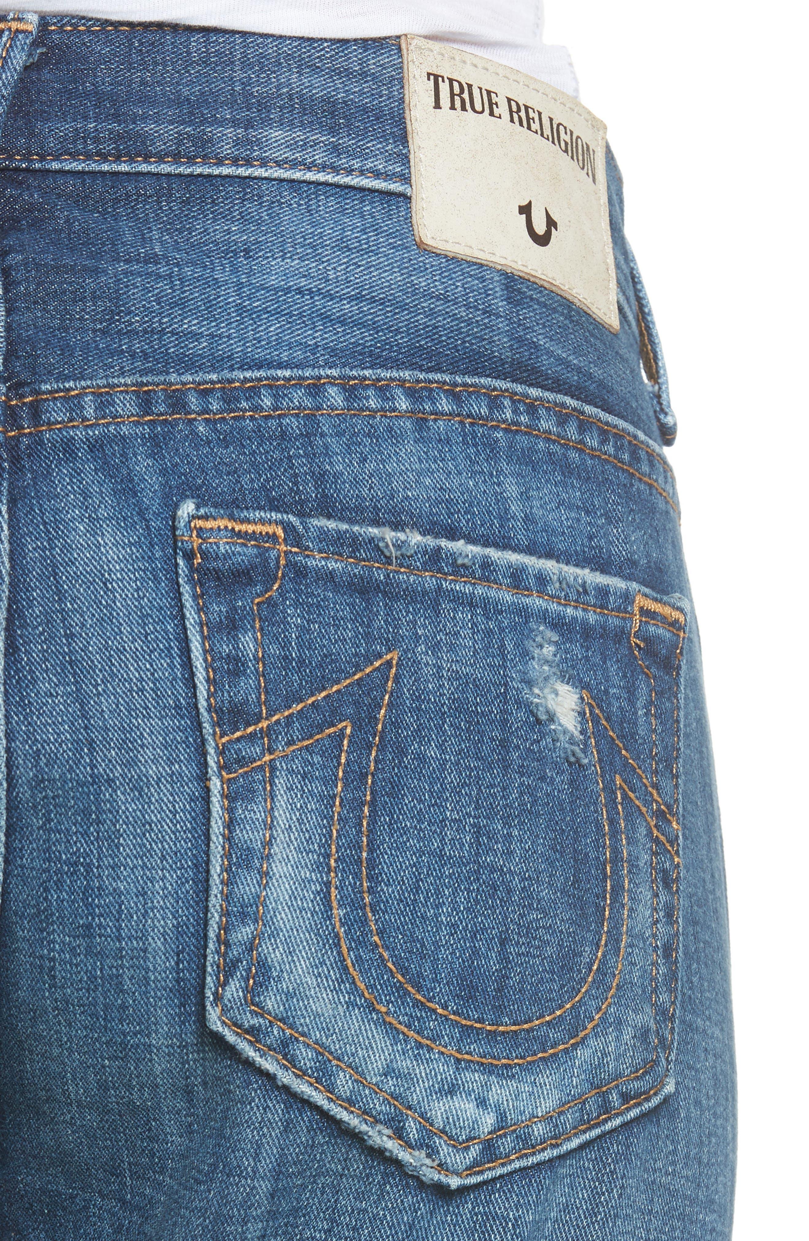 Cameron Destroyed Boyfriend Jeans,                             Alternate thumbnail 4, color,                             404
