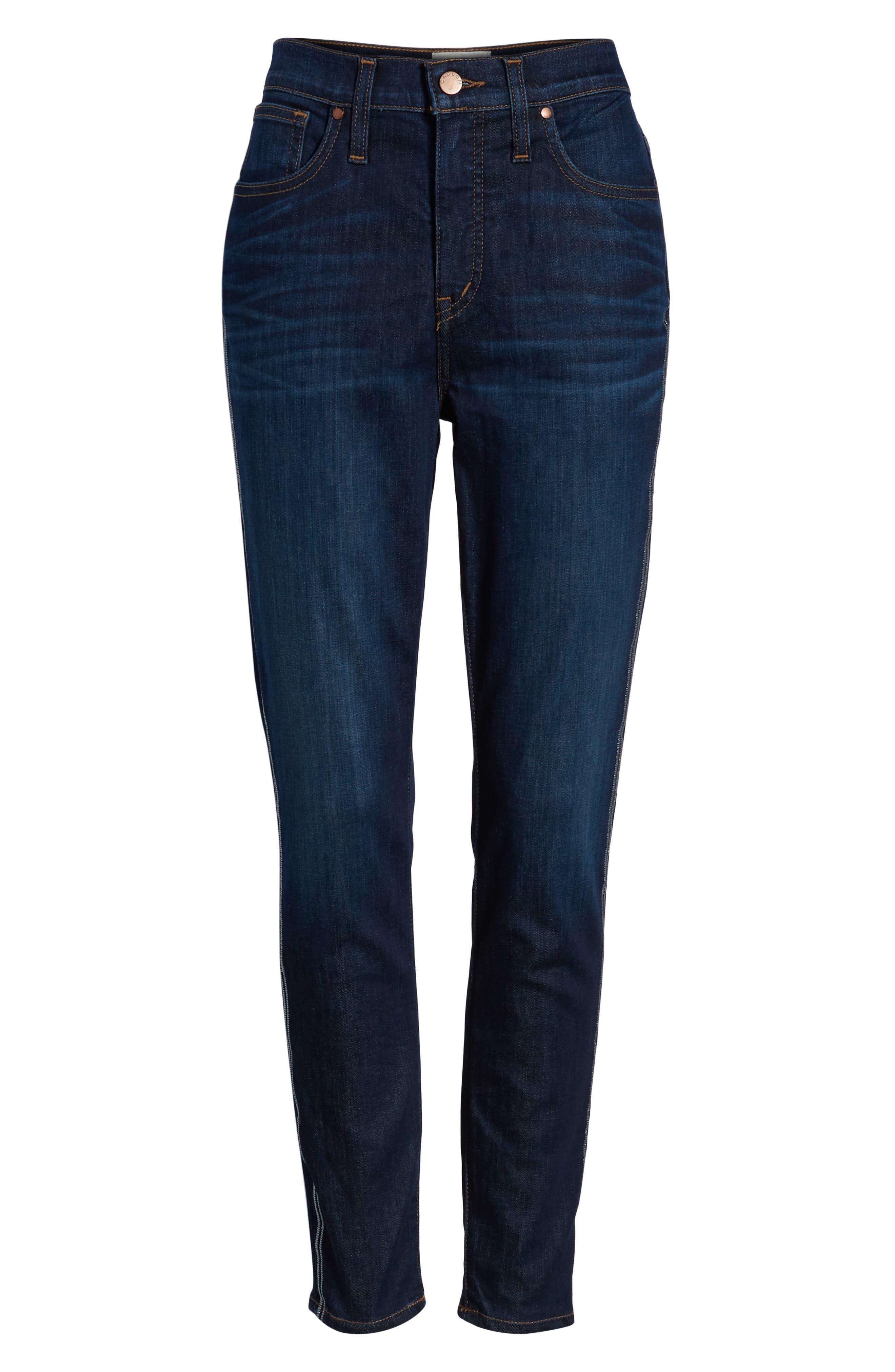 Sierra High Waist Ankle Skinny Jeans,                             Alternate thumbnail 7, color,                             FRANCIS