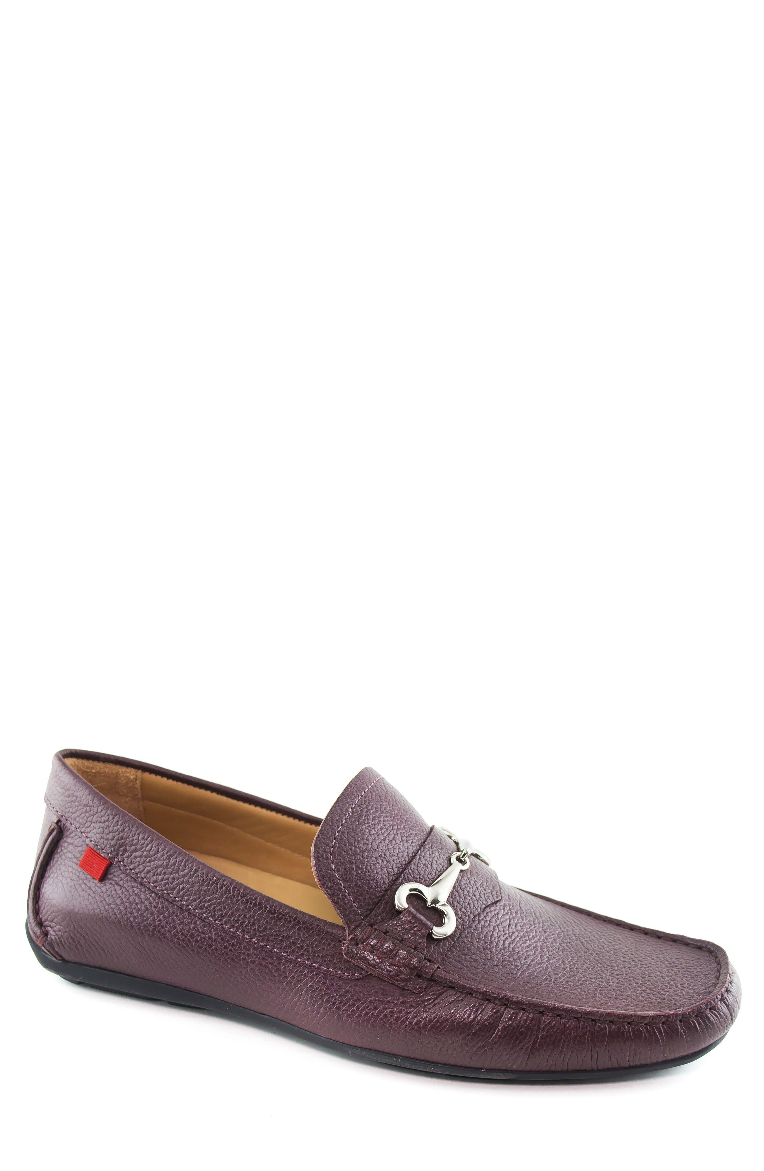 Wall Street Driving Shoe,                             Main thumbnail 1, color,                             WINE