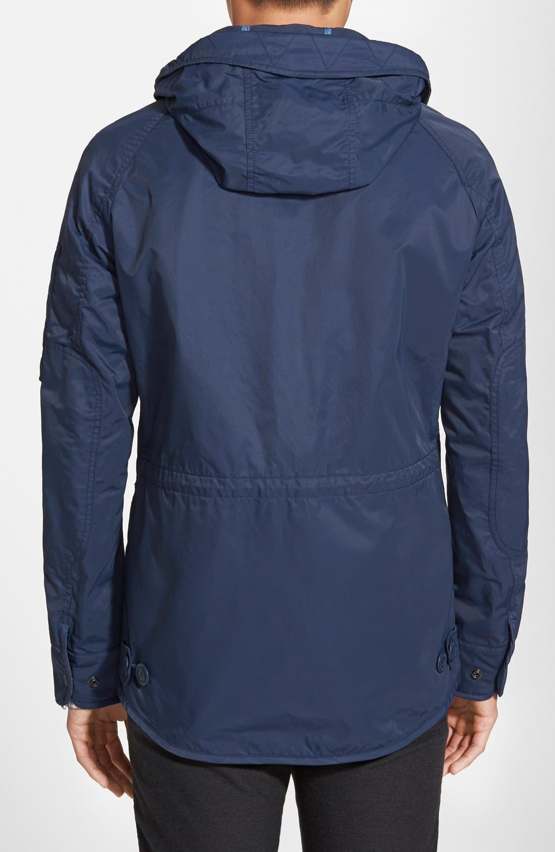 'Summer N-3B' Water Resistant Hooded Jacket,                             Alternate thumbnail 3, color,                             400