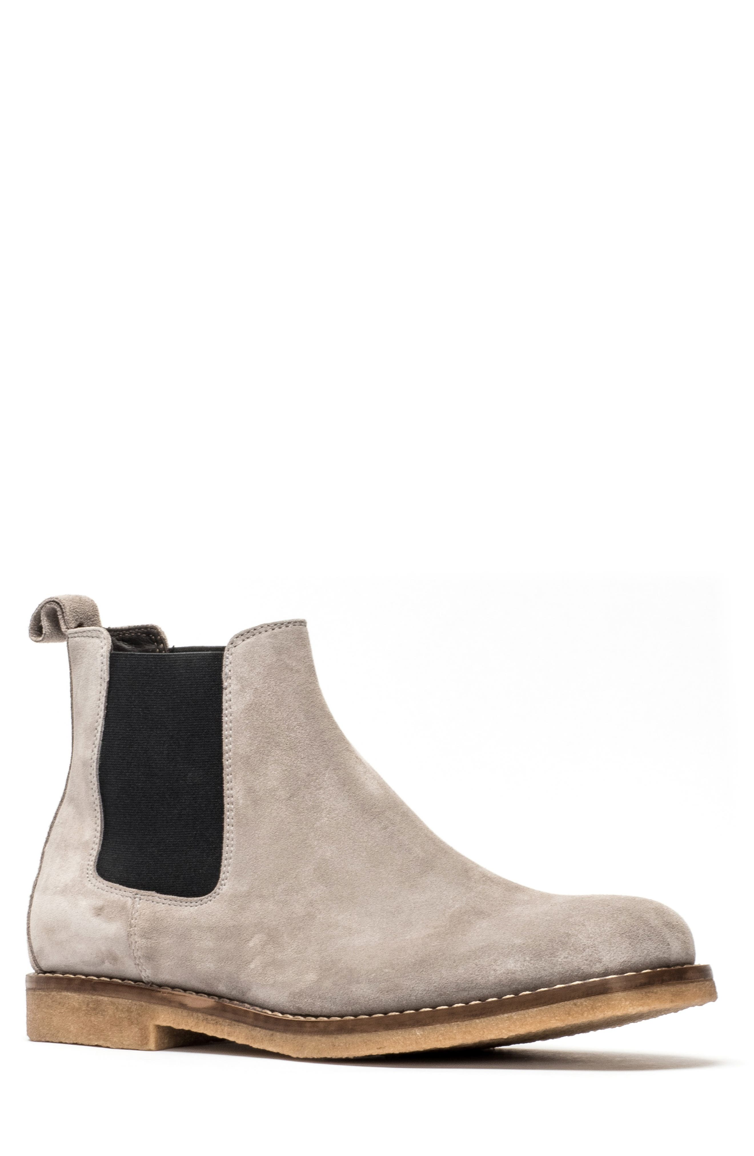 Gertrude Valley Water Repellent Chelsea Boot,                             Main thumbnail 1, color,                             STONE
