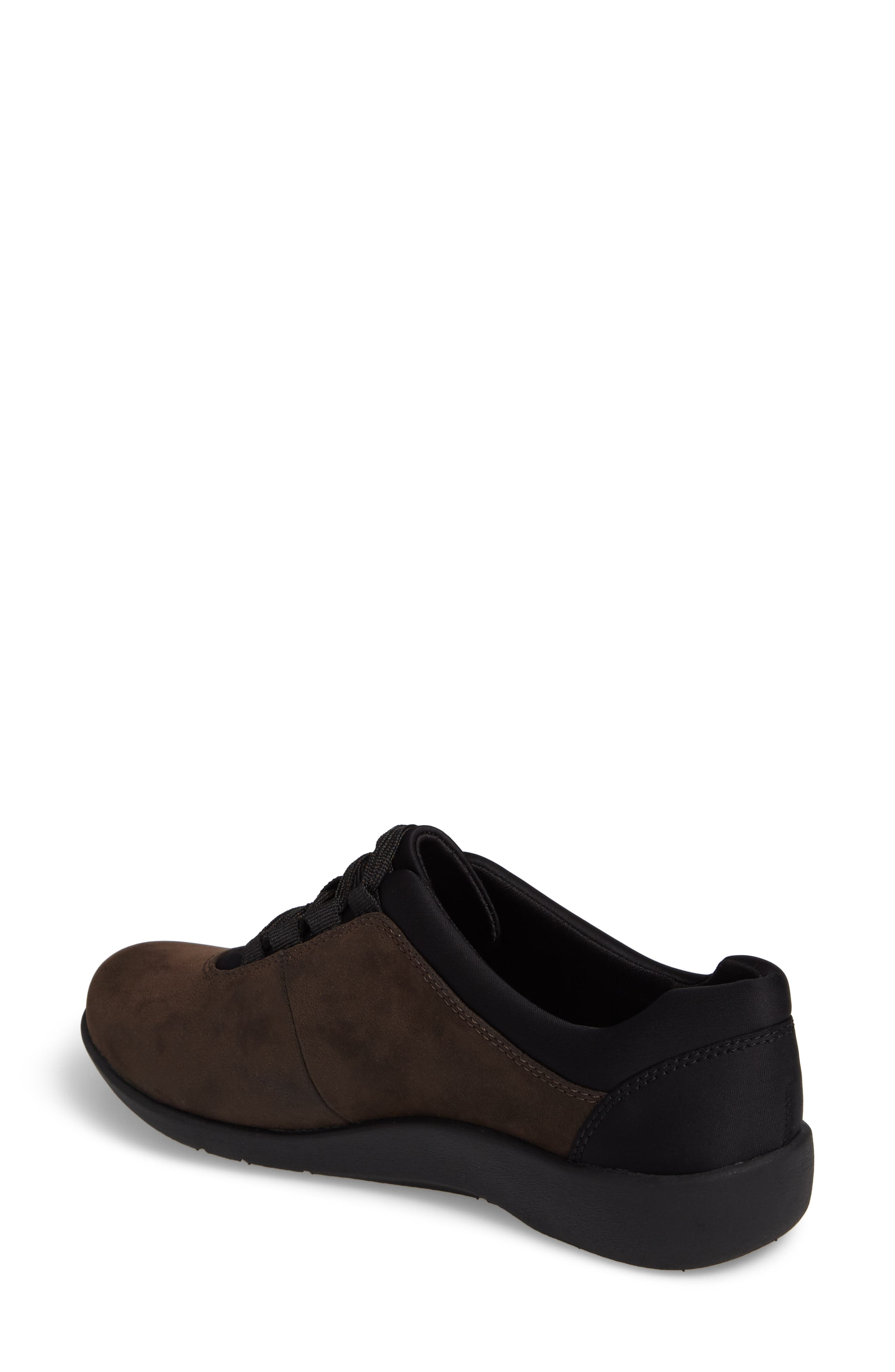 Sillian Pine Sneaker,                             Alternate thumbnail 2, color,                             BROWN CANVAS