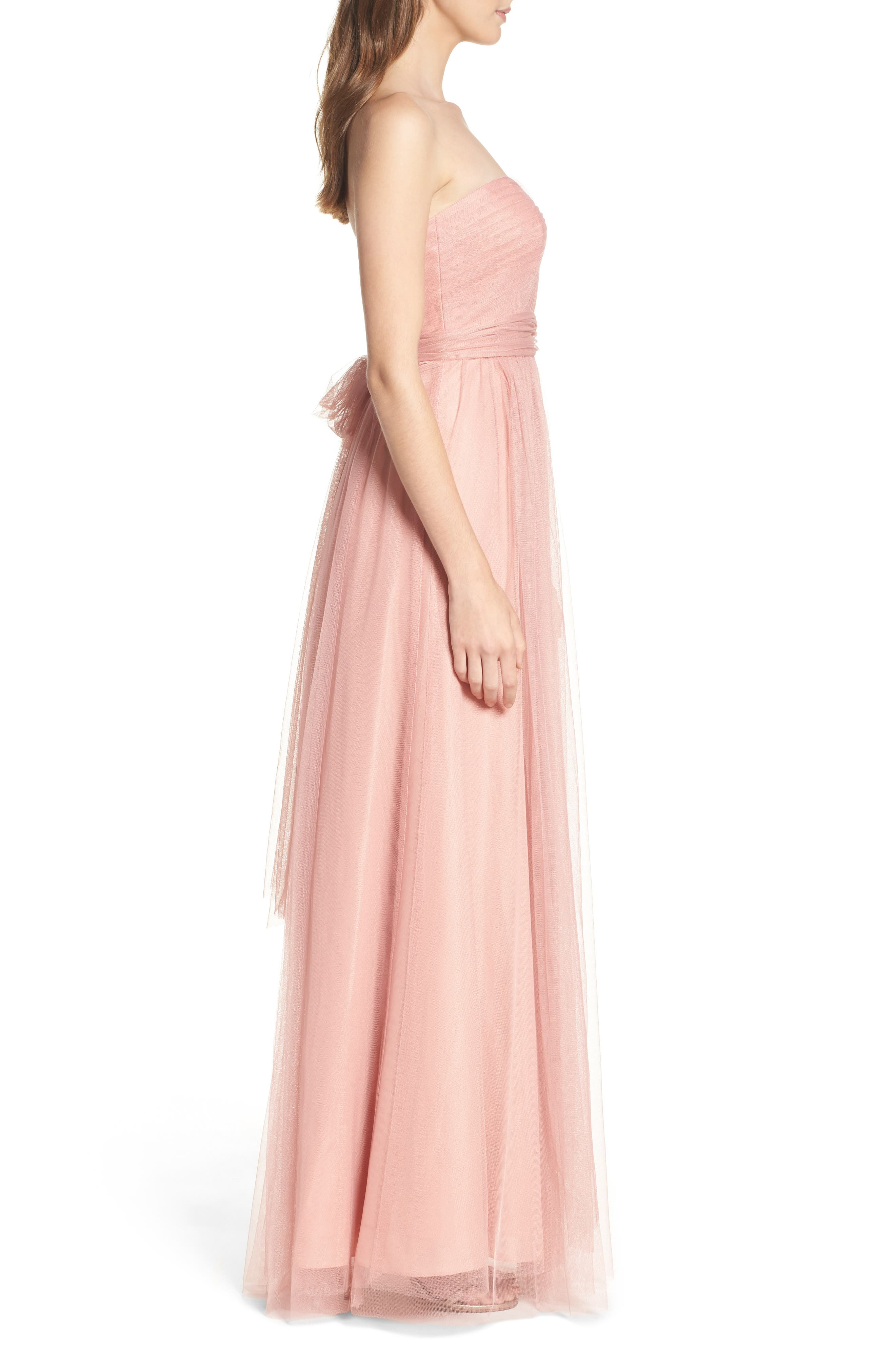 Annabelle Convertible Tulle Column Dress,                             Alternate thumbnail 99, color,