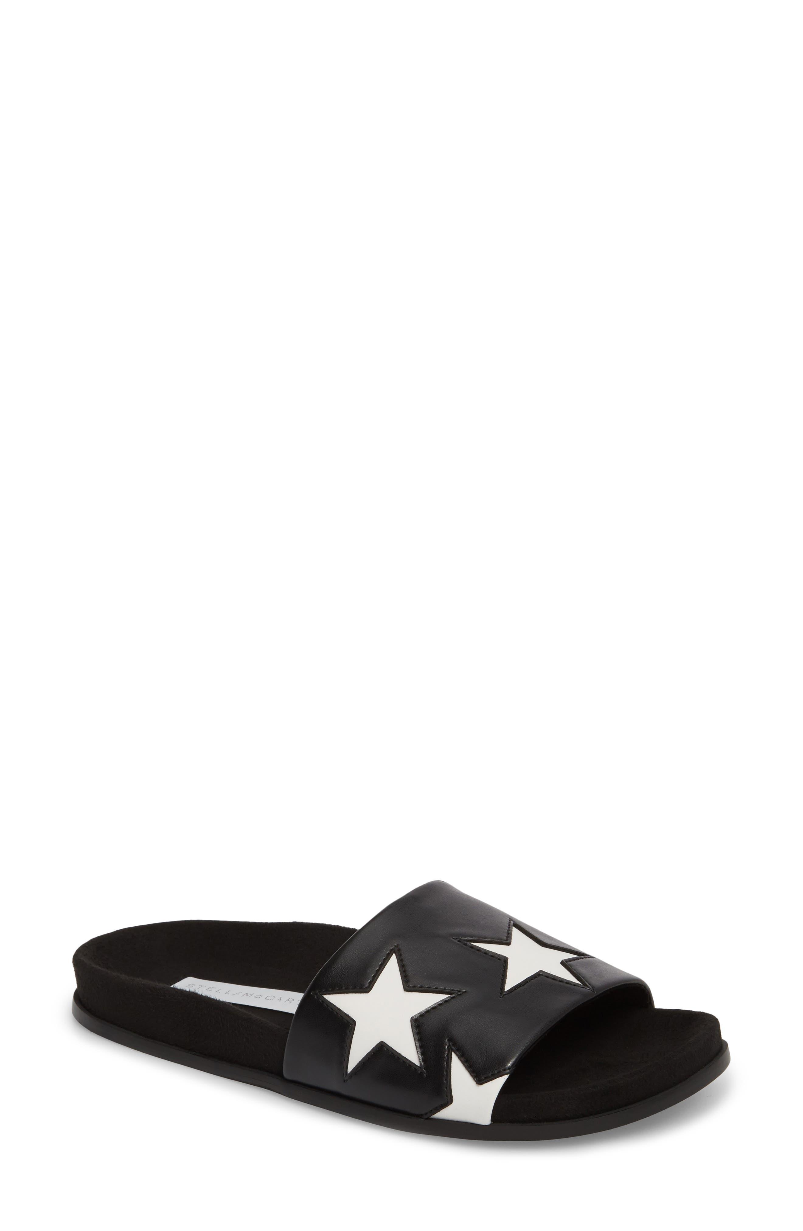 Star Slide Sandal,                         Main,                         color, 001