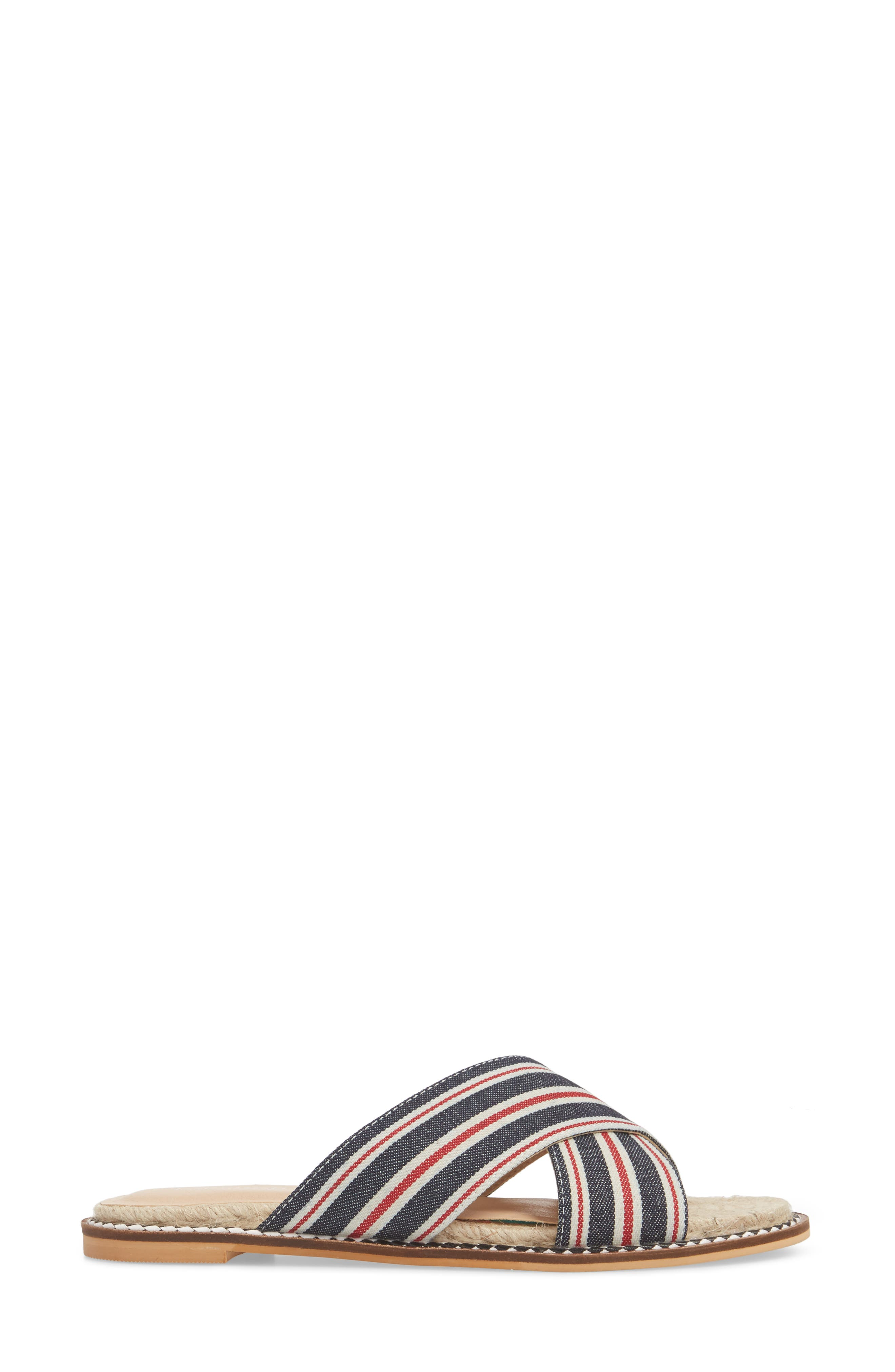 Hibiscus Slide Sandal,                             Alternate thumbnail 6, color,