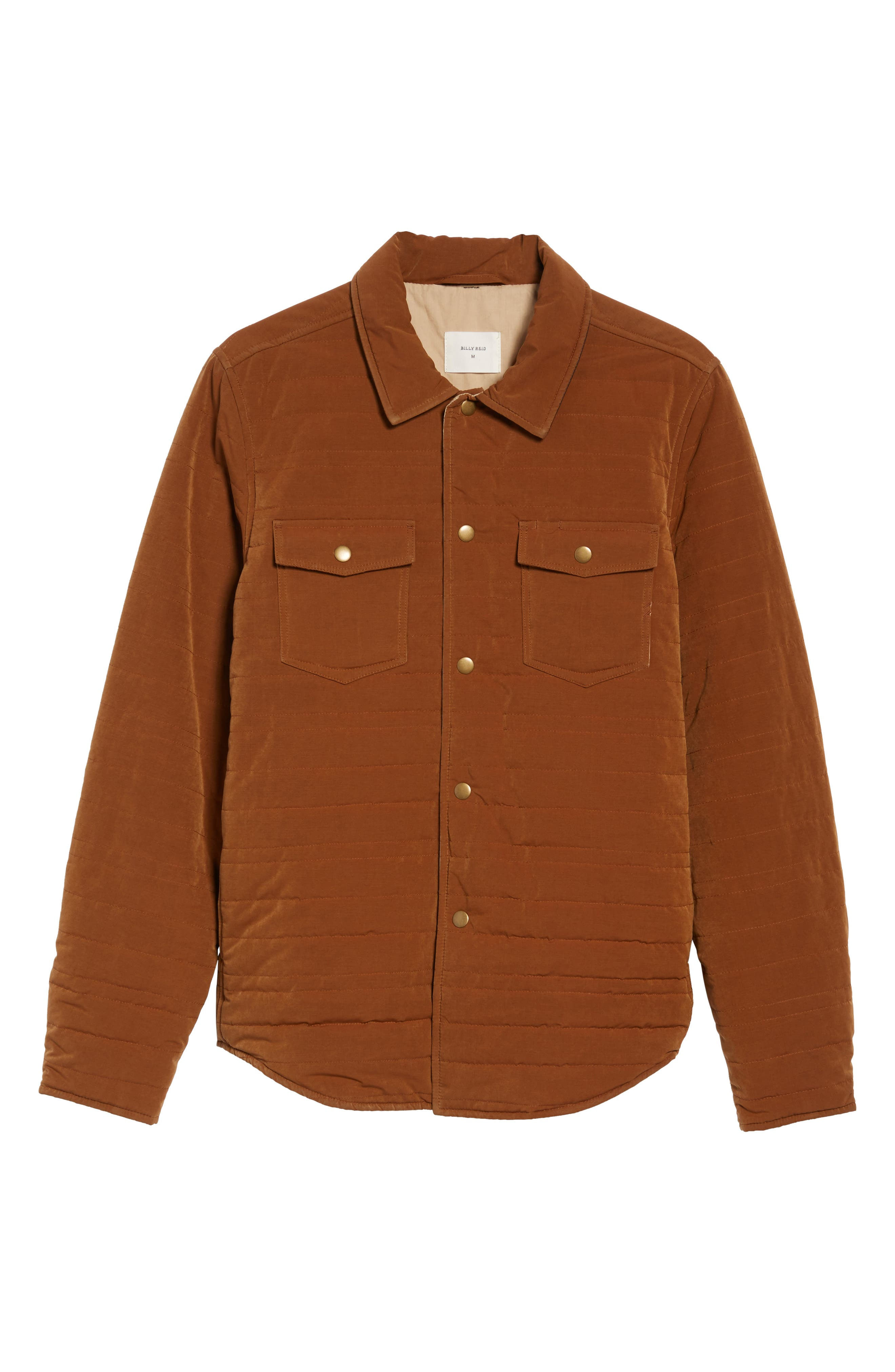 Michael Slim Fit Quilted Shirt Jacket,                             Alternate thumbnail 10, color,