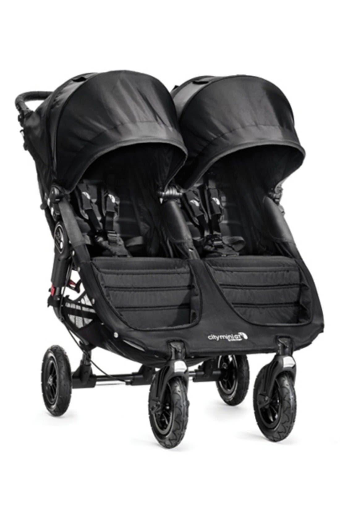 City Mini<sup>®</sup> GT Double Stroller,                         Main,                         color, BLACK