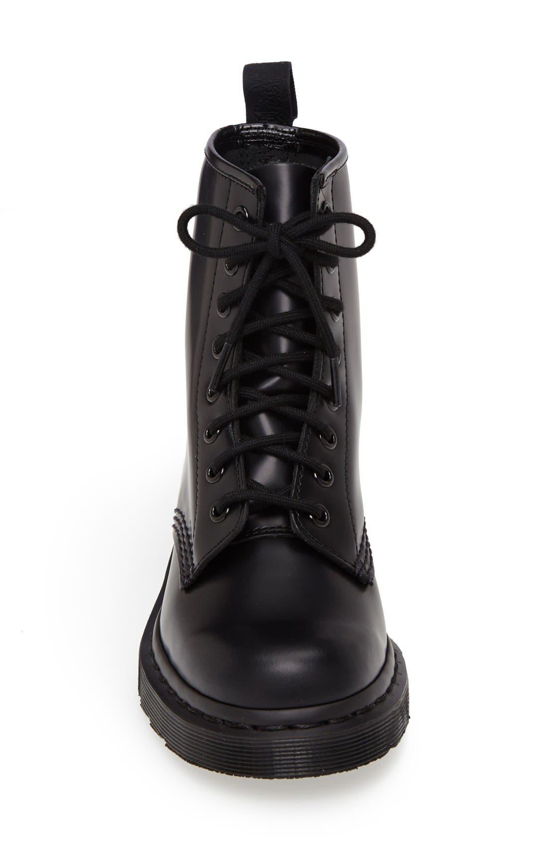 '1460 Mono' Boot,                             Alternate thumbnail 3, color,                             001
