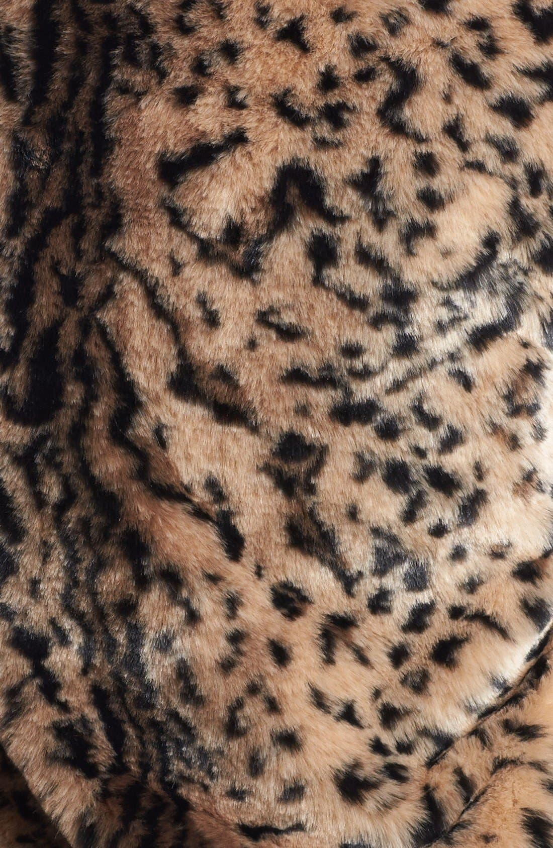 JACK,                             Faux Fur Vest,                             Alternate thumbnail 3, color,                             200