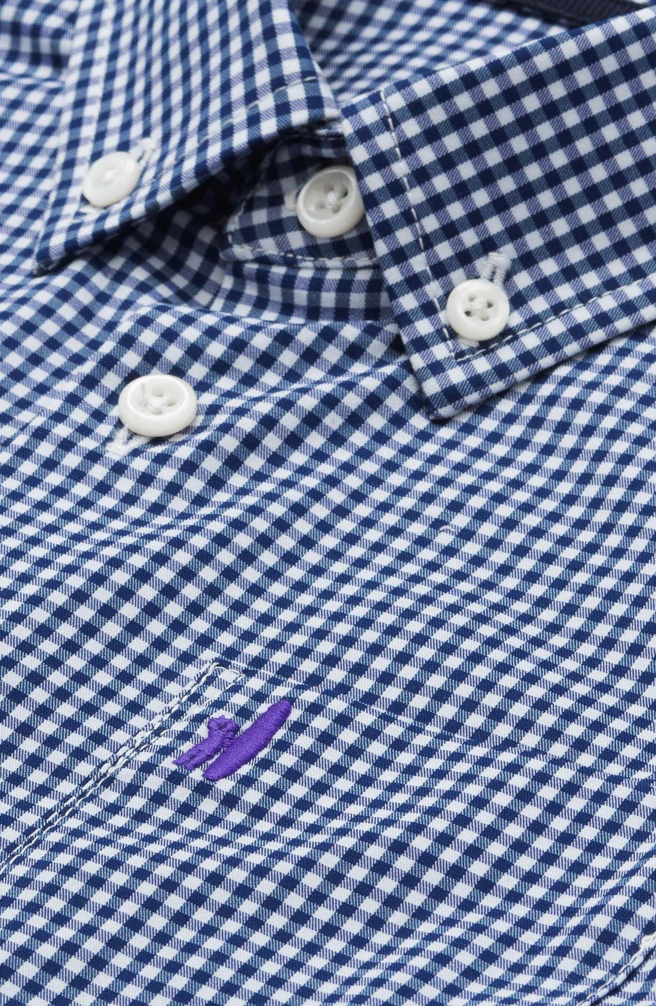 Augusta Jr. Gingham Dress Shirt,                             Alternate thumbnail 2, color,                             464