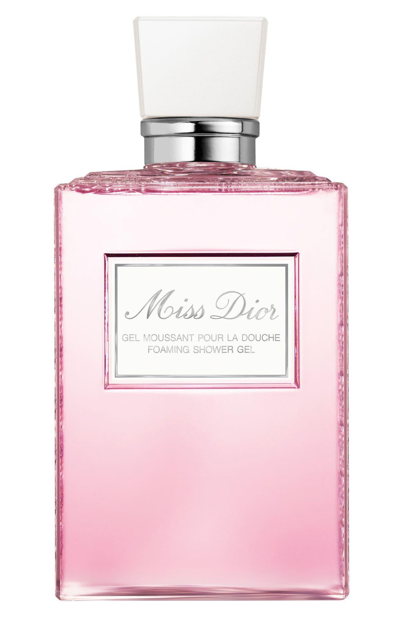 Miss Dior Foaming Shower Gel,                             Main thumbnail 1, color,                             NO COLOR