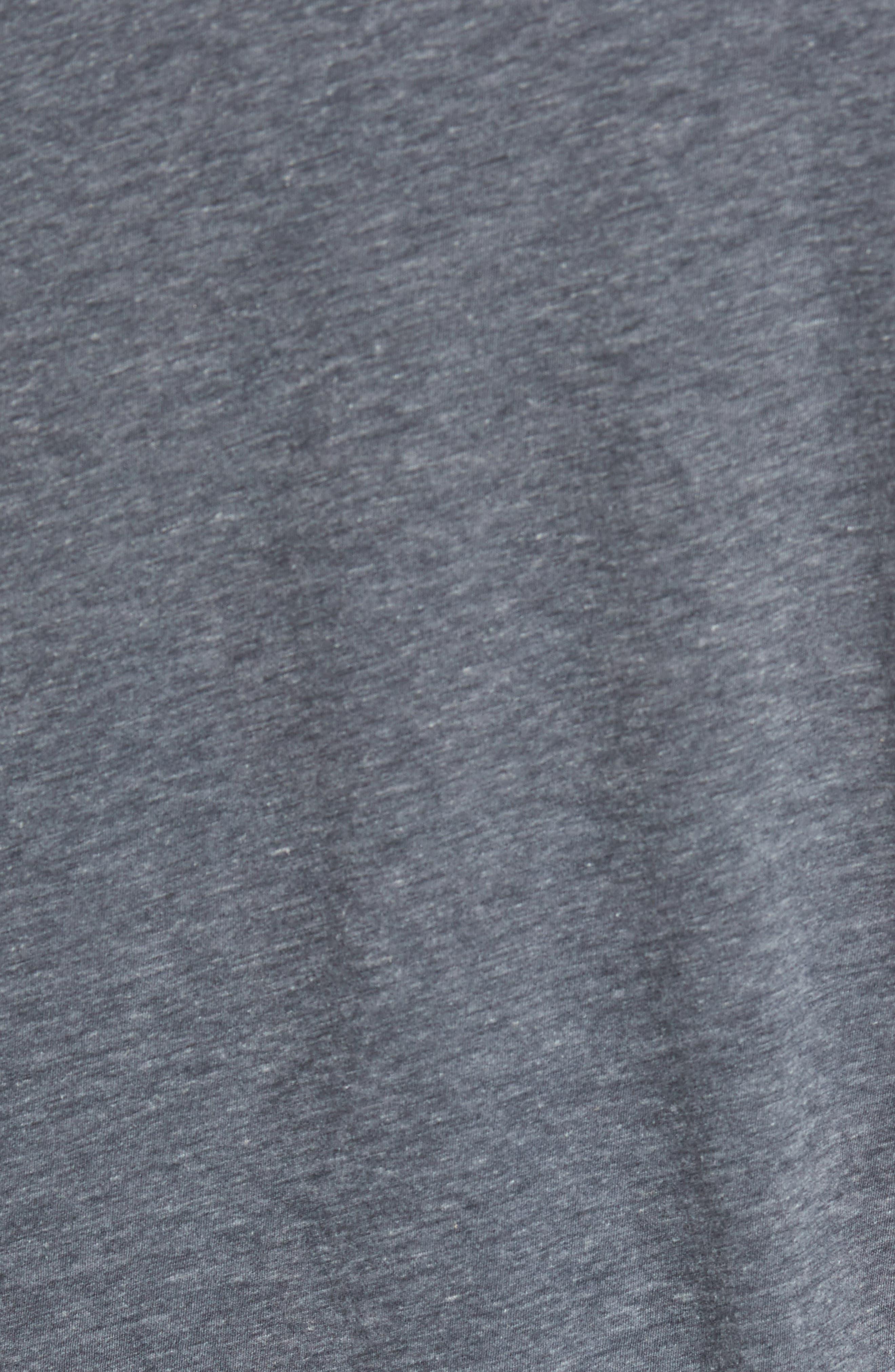 Mélange Long Sleeve Graphic T-Shirt,                             Alternate thumbnail 5, color,                             007