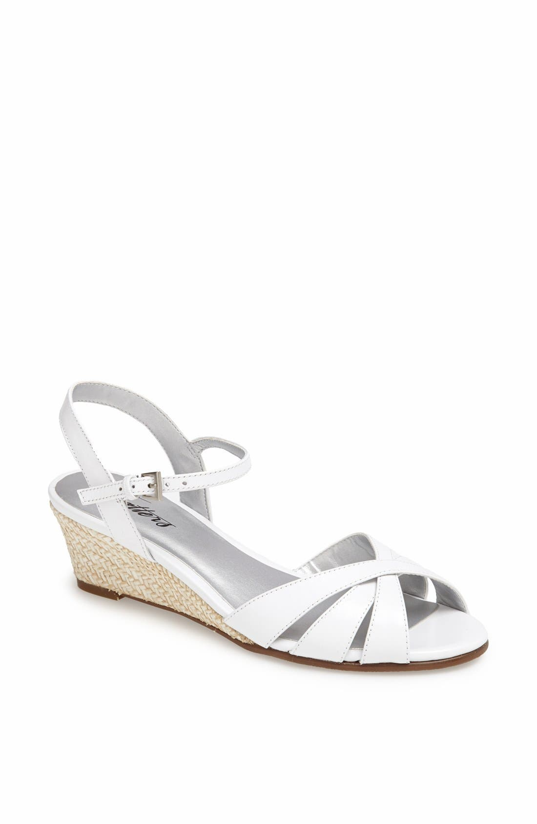 'Mickey' Wedge Sandal,                             Main thumbnail 6, color,