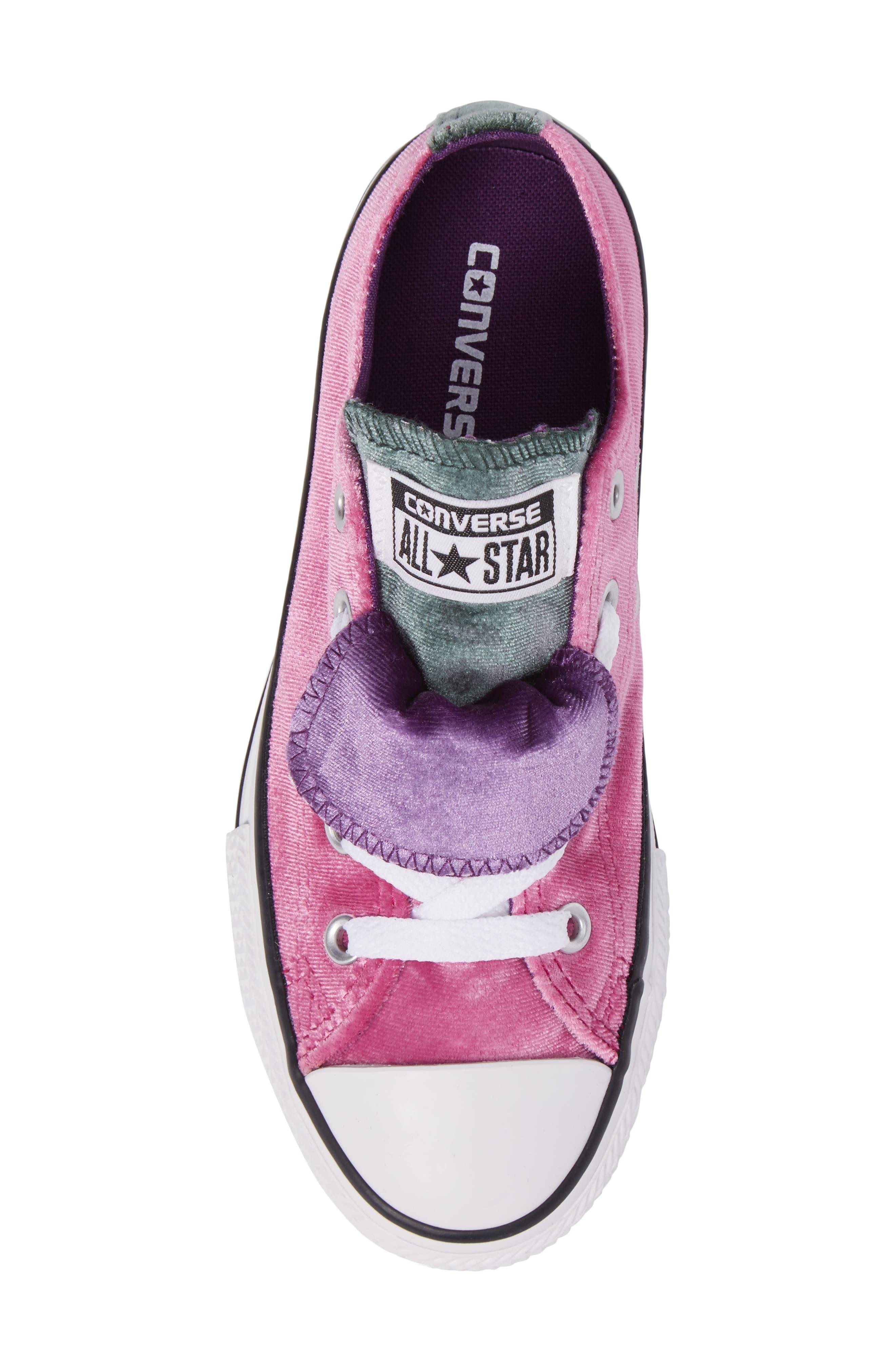 All Star<sup>®</sup> Velvet Double Tongue Sneaker,                             Alternate thumbnail 5, color,