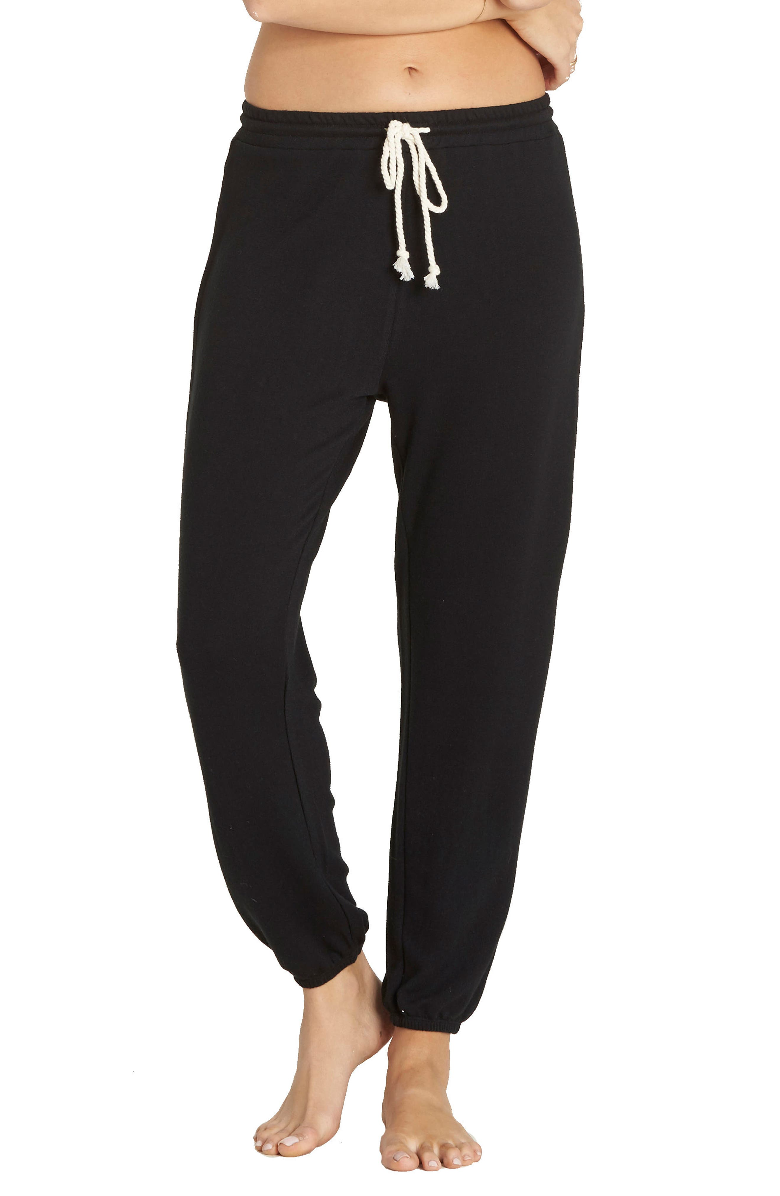 Cozy Coast Fleece Sweatpants,                         Main,                         color, 001