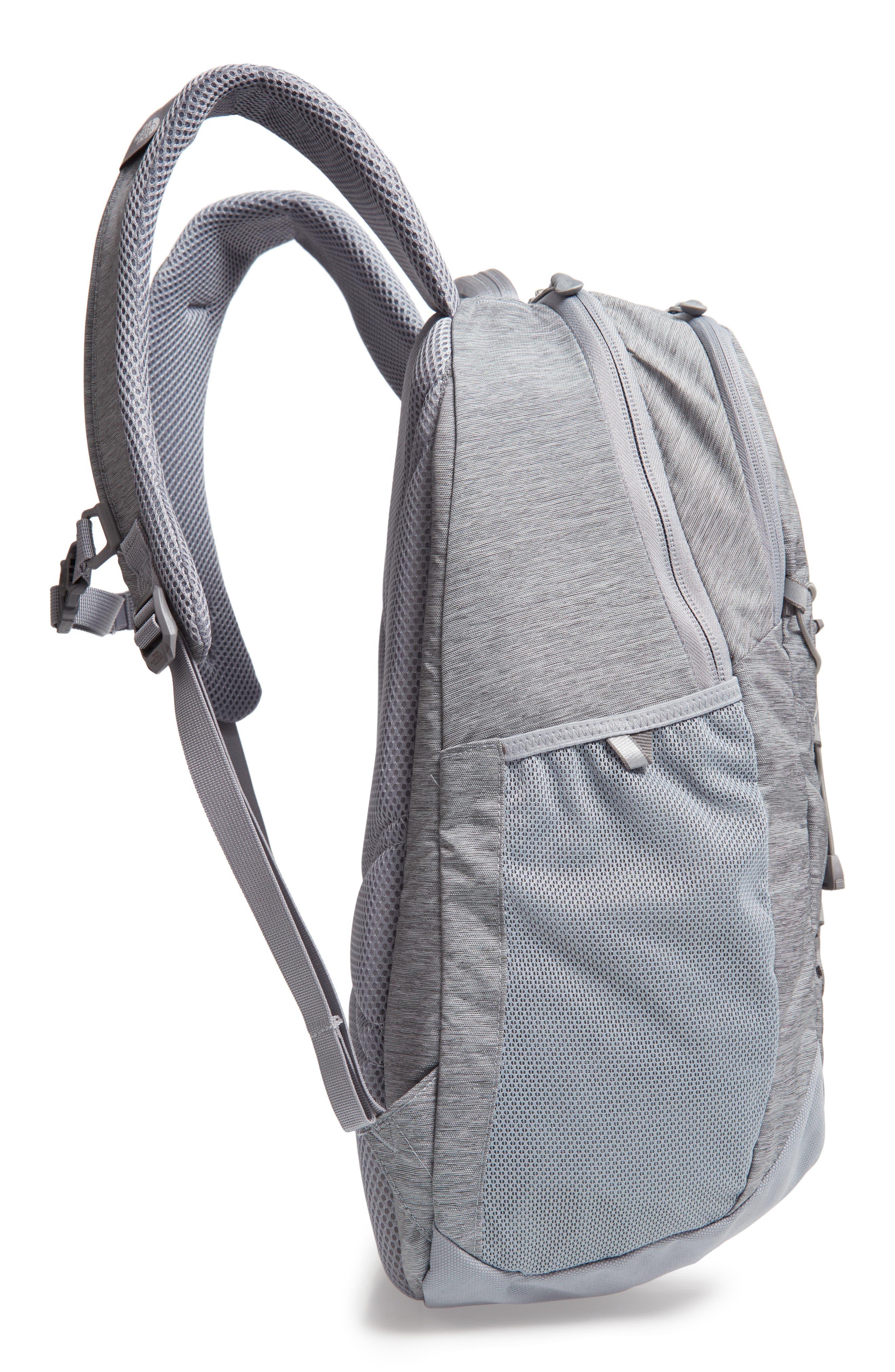 Jester Backpack,                             Alternate thumbnail 5, color,                             GREY DARK HEATHER/ TNF BLACK