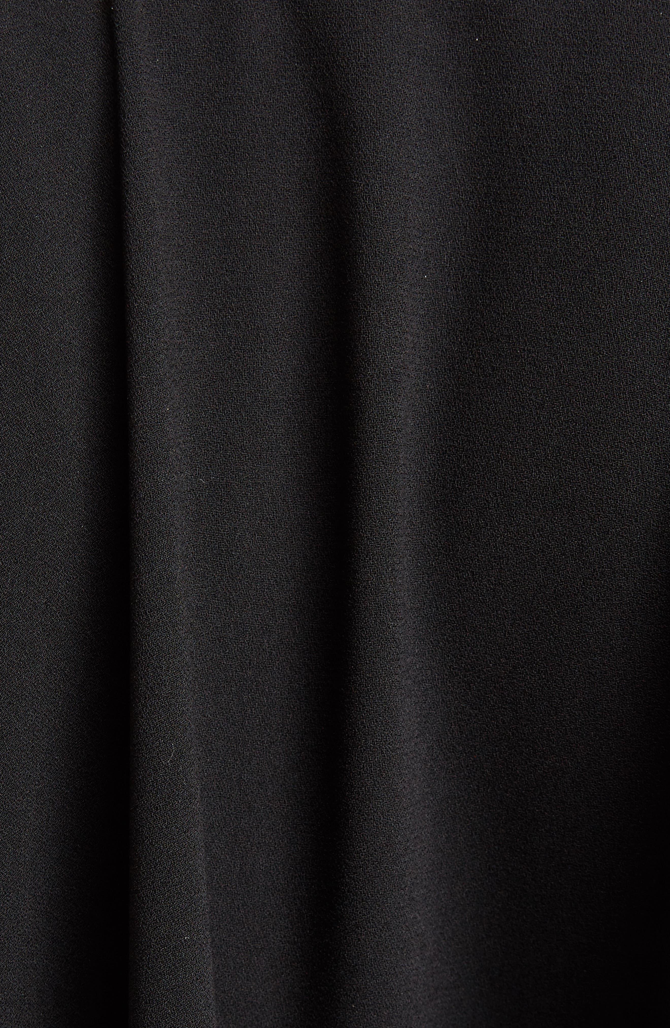 J.W.ANDERSON Cap Sleeve Maxi Dress,                             Alternate thumbnail 5, color,                             001