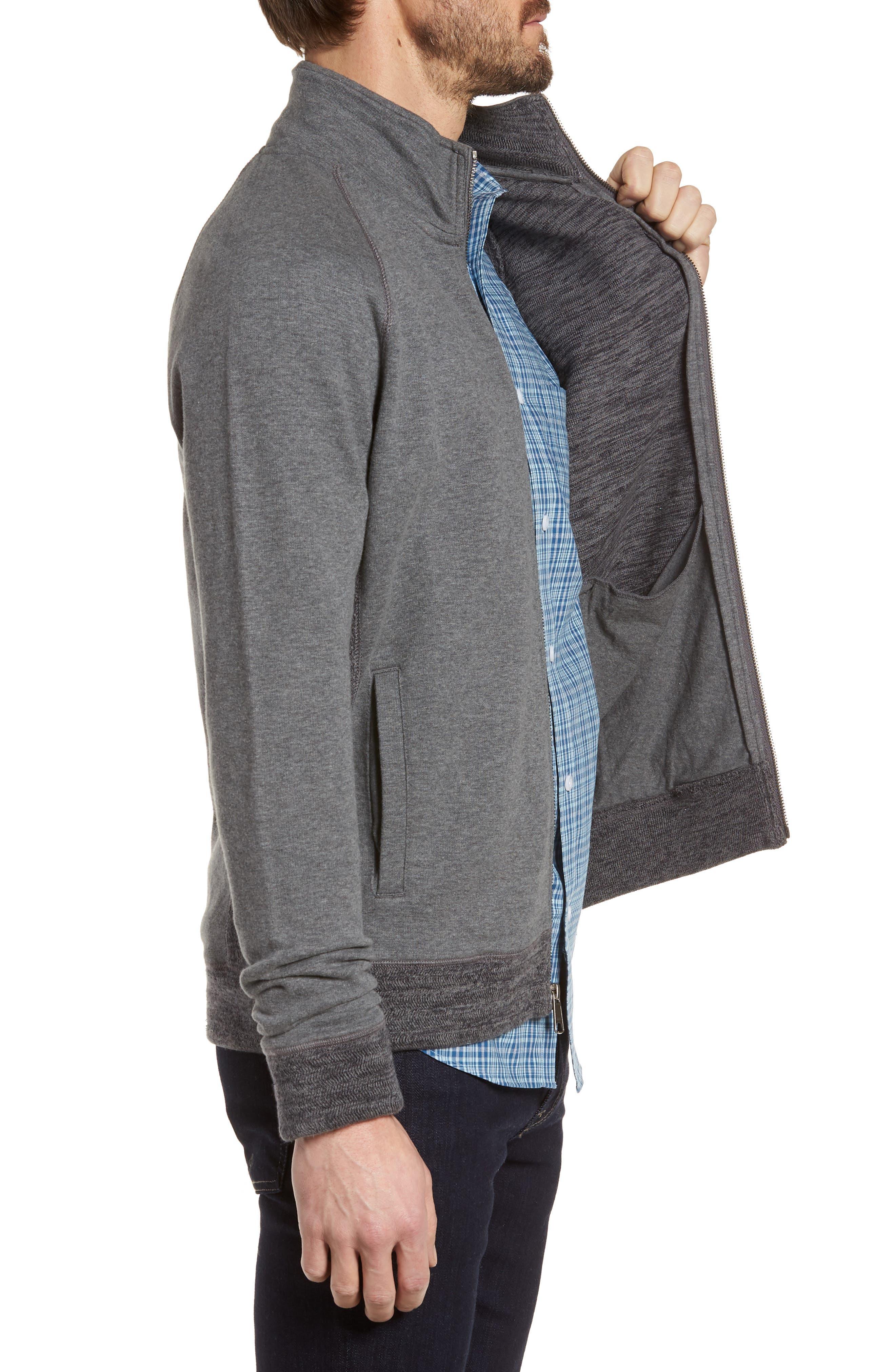 Full Zip Fleece Jacket,                             Alternate thumbnail 3, color,                             021