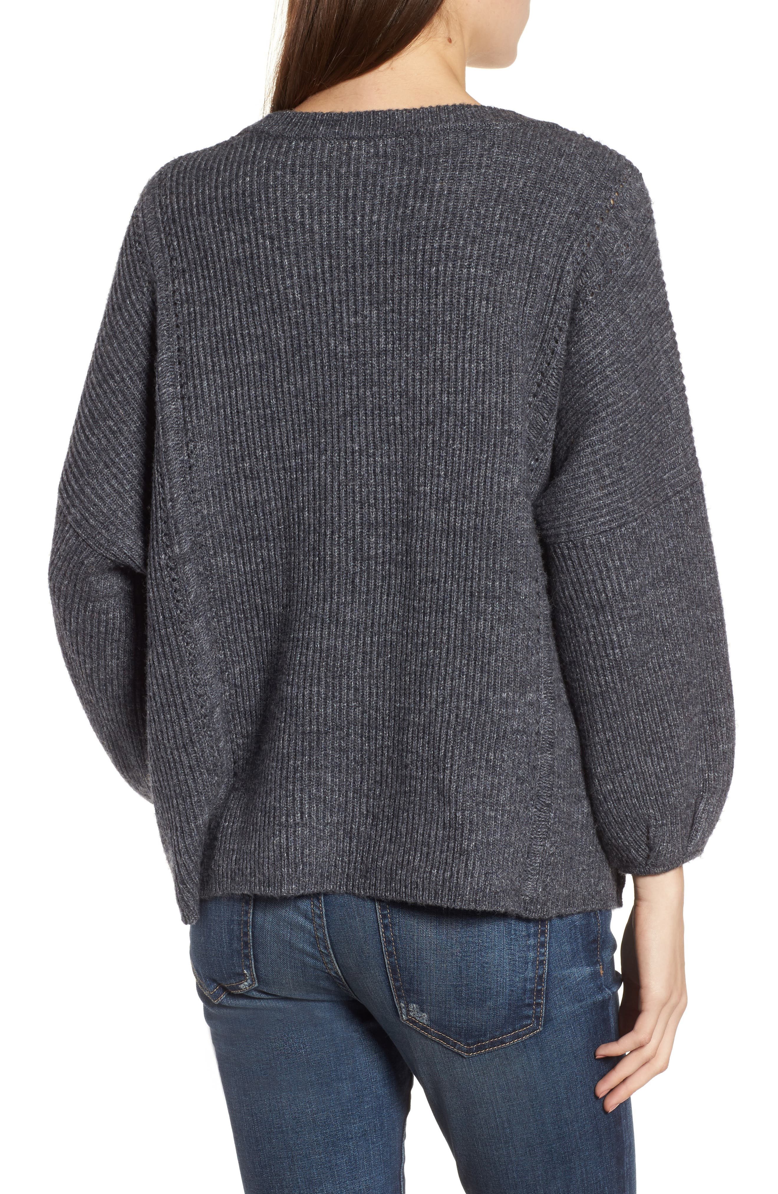 Delfina Ribbed Sweater,                             Alternate thumbnail 2, color,                             039