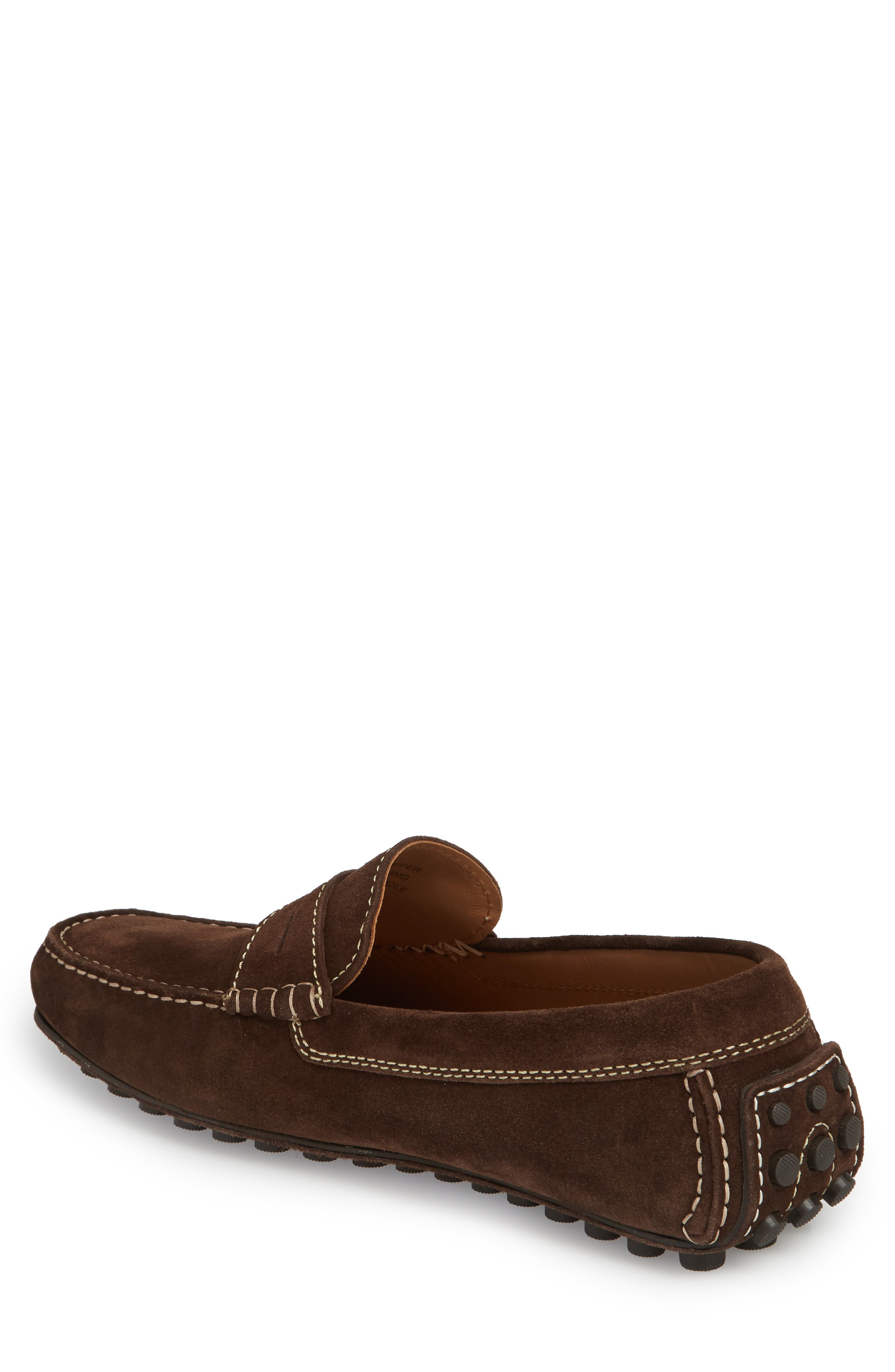 Le Mans Penny Driving Loafer,                             Alternate thumbnail 2, color,                             CHOCOLATE
