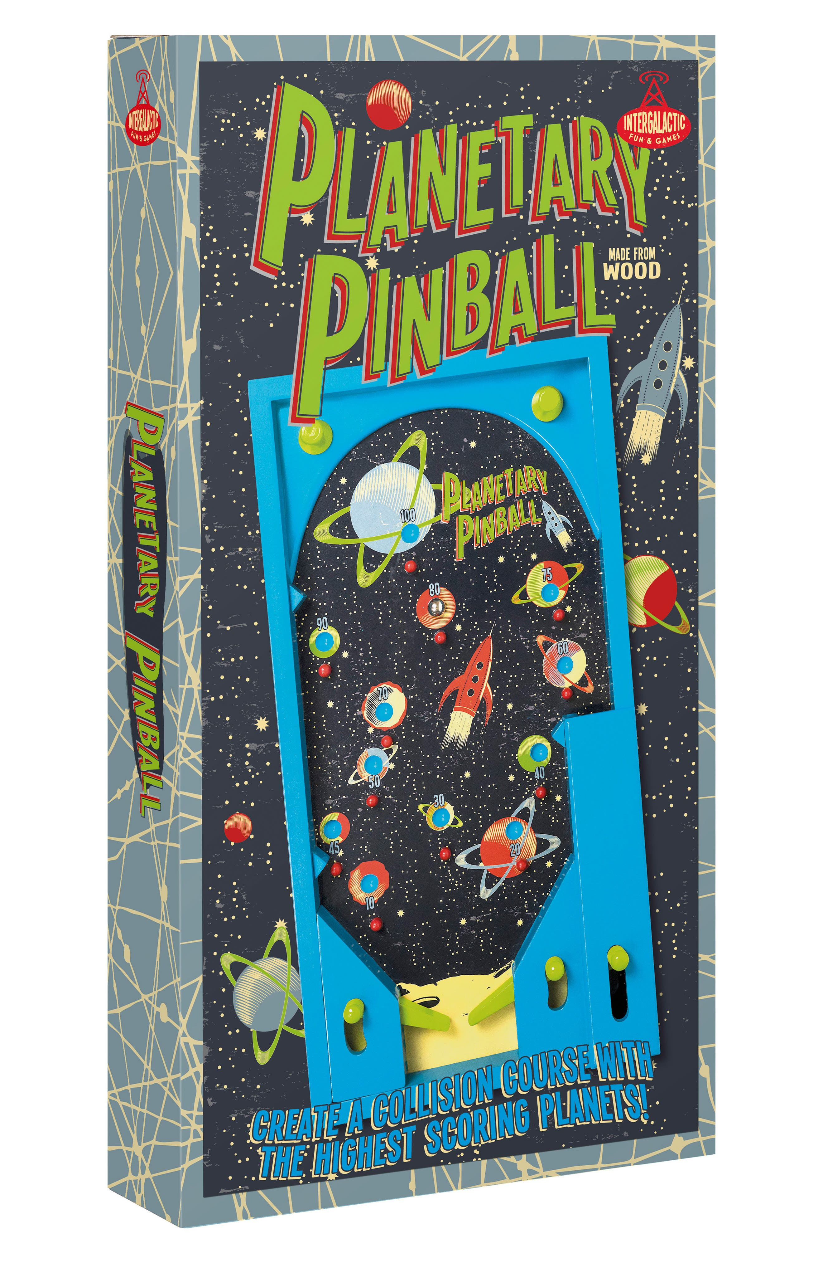 Planetary Pinball,                         Main,                         color, MULTI