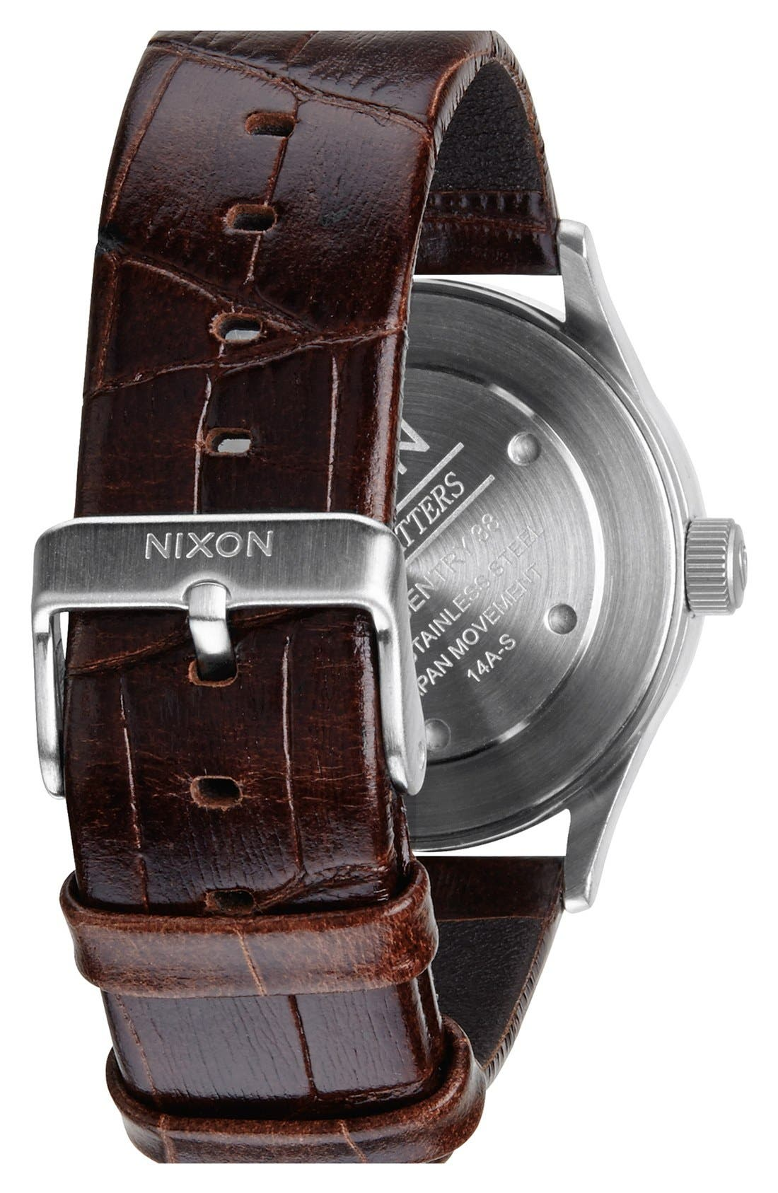 'The Sentry 38' Leather Strap Watch, 38mm,                             Alternate thumbnail 26, color,