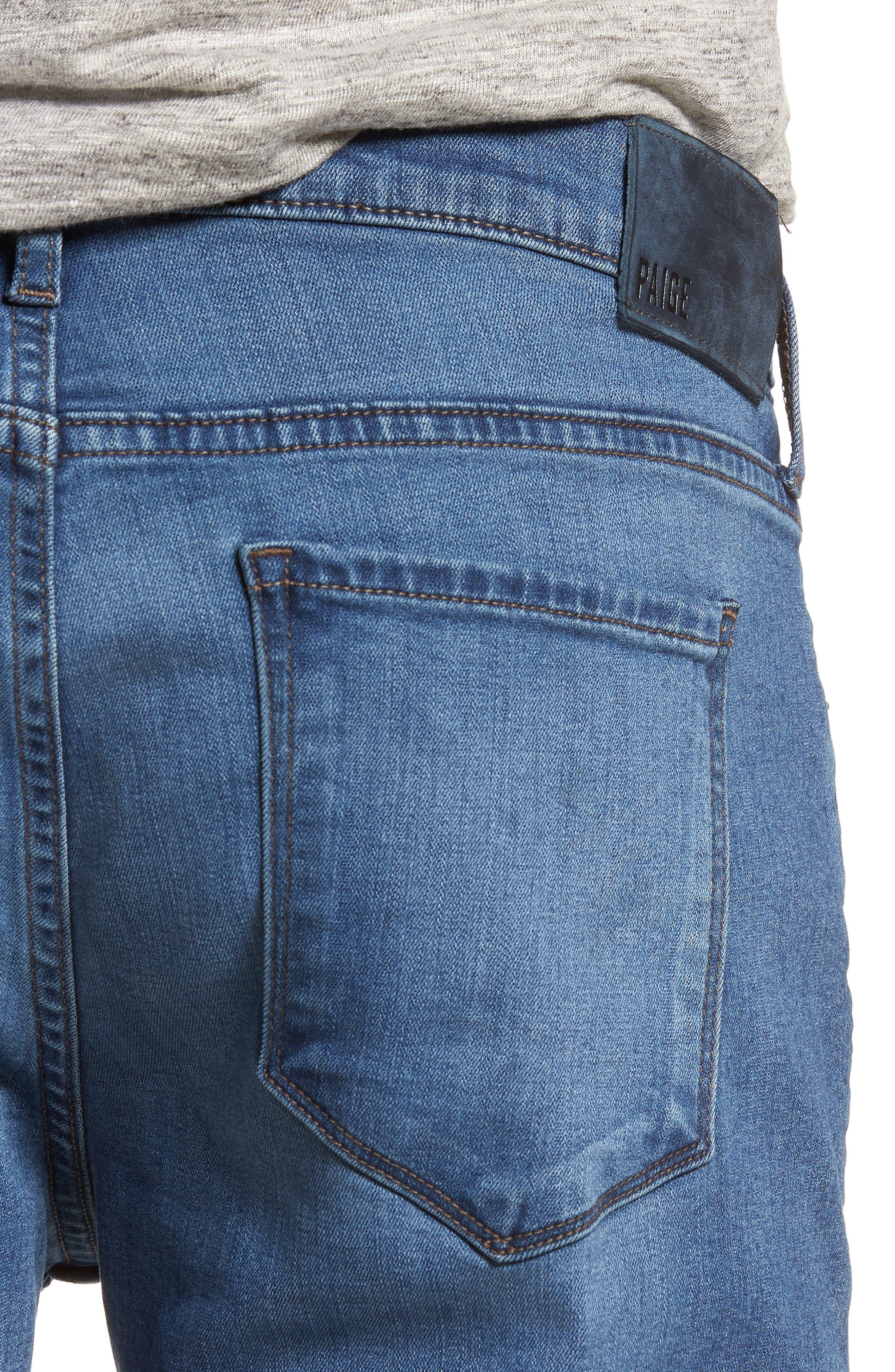 Federal Slim Straight Leg Jeans,                             Alternate thumbnail 4, color,