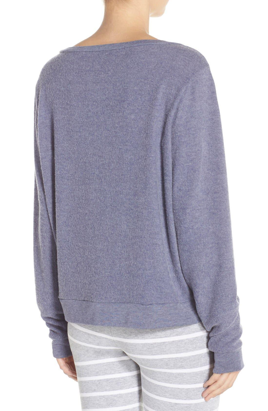 Brushed Hacci Sweatshirt,                             Alternate thumbnail 60, color,