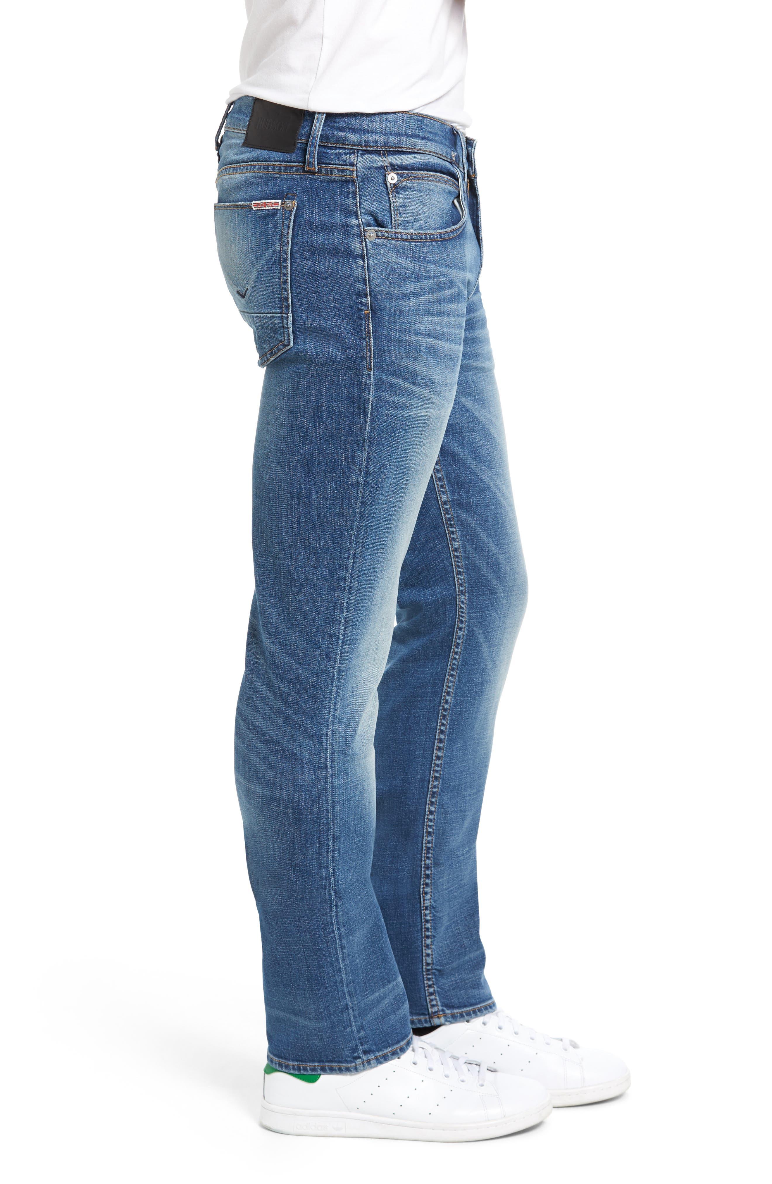 Byron Slim Straight Leg Jeans,                             Alternate thumbnail 3, color,                             453