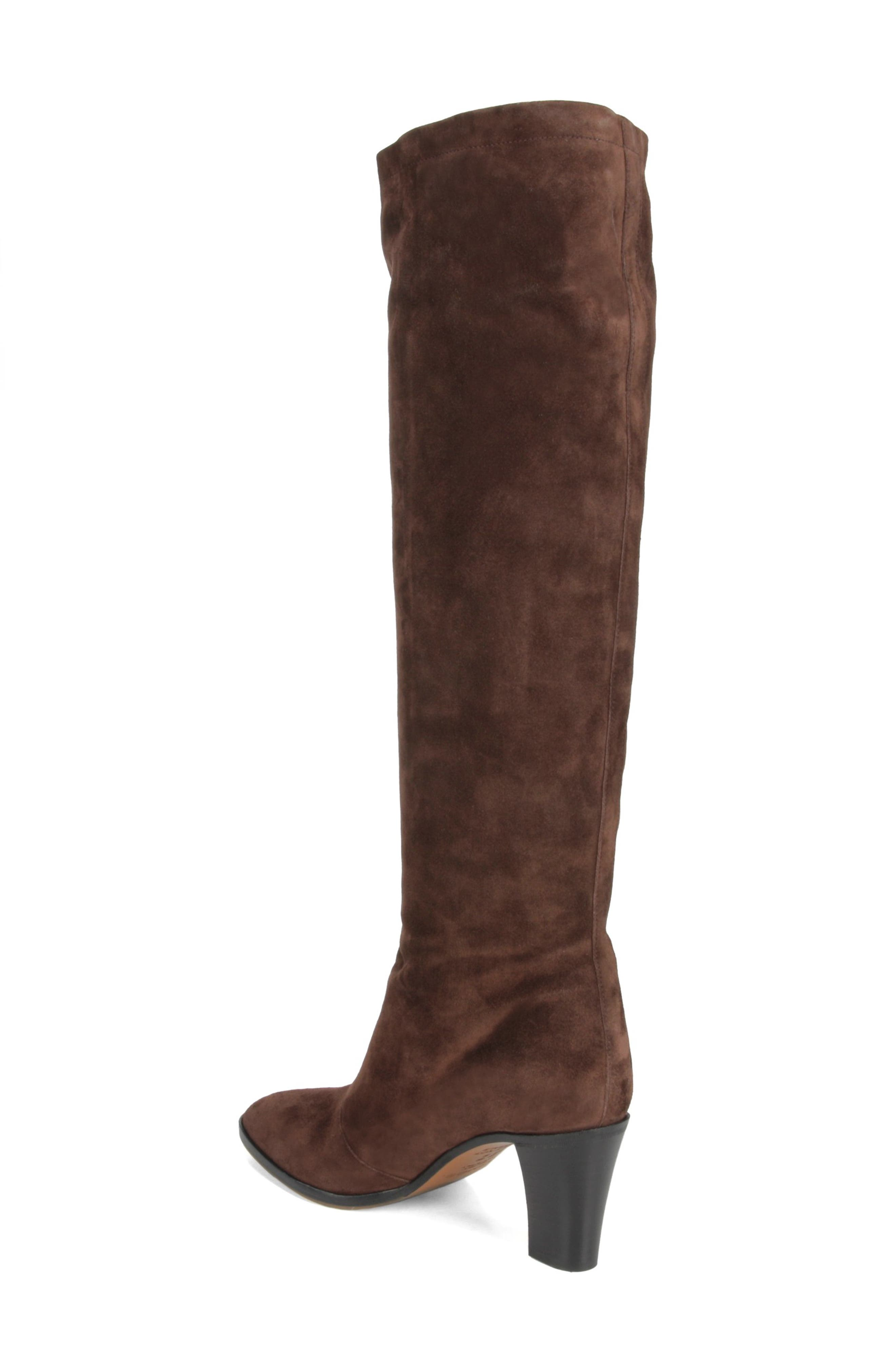 Casper Knee High Pull-On Boot,                             Alternate thumbnail 2, color,                             COTTO BROWN