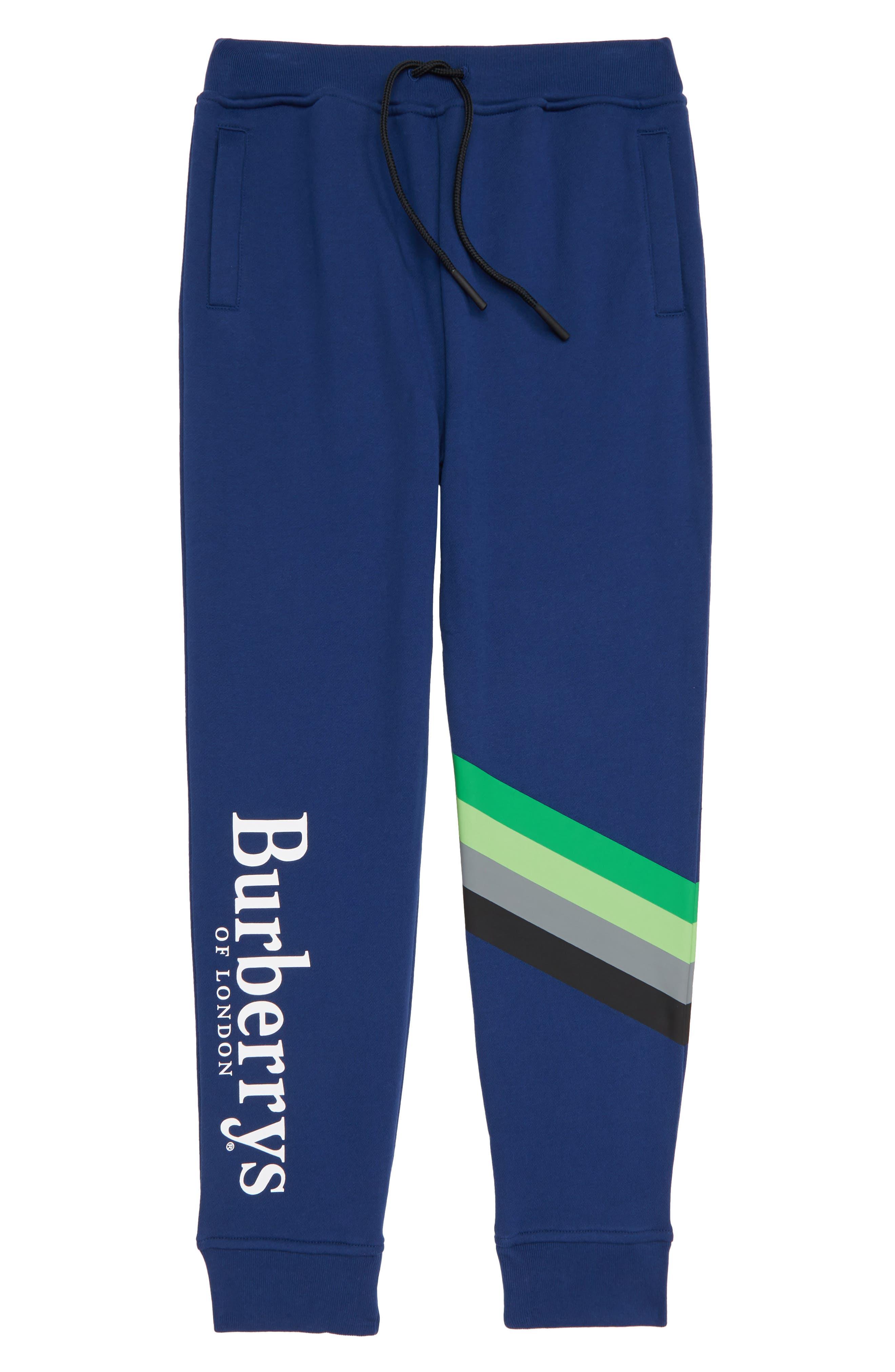 Logo Sweatpants,                             Main thumbnail 1, color,                             CANVAS BLUE