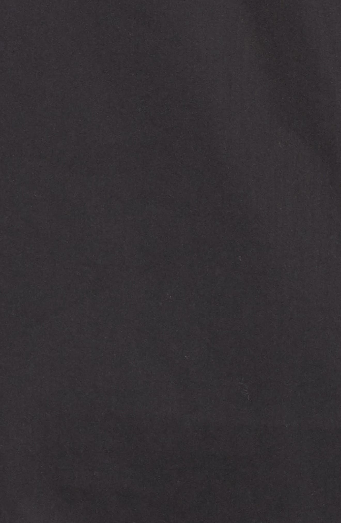 Bell Sleeve Poplin Top,                             Alternate thumbnail 5, color,                             001