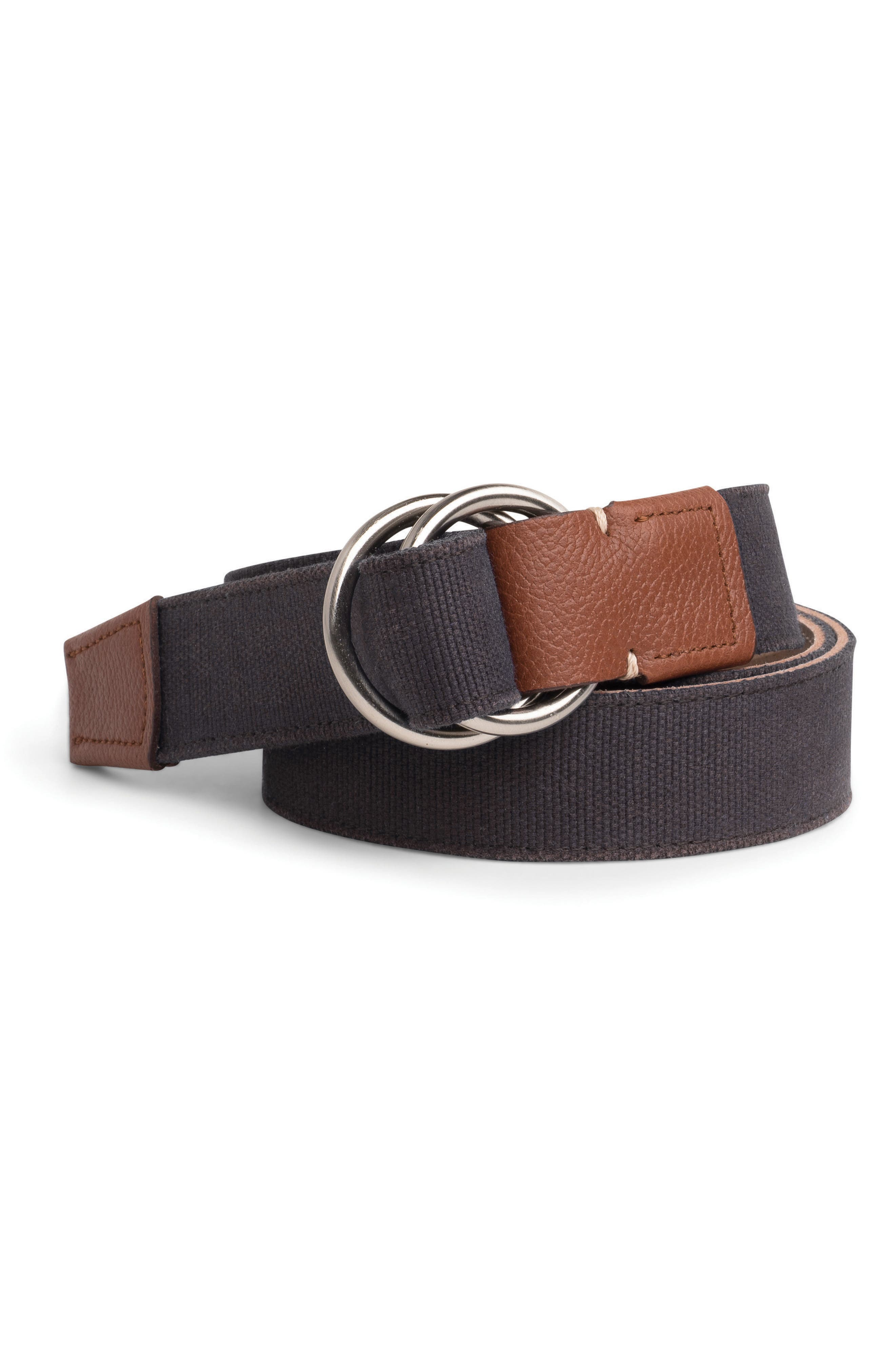Mountainside Canvas O-Ring Belt,                         Main,                         color, 201