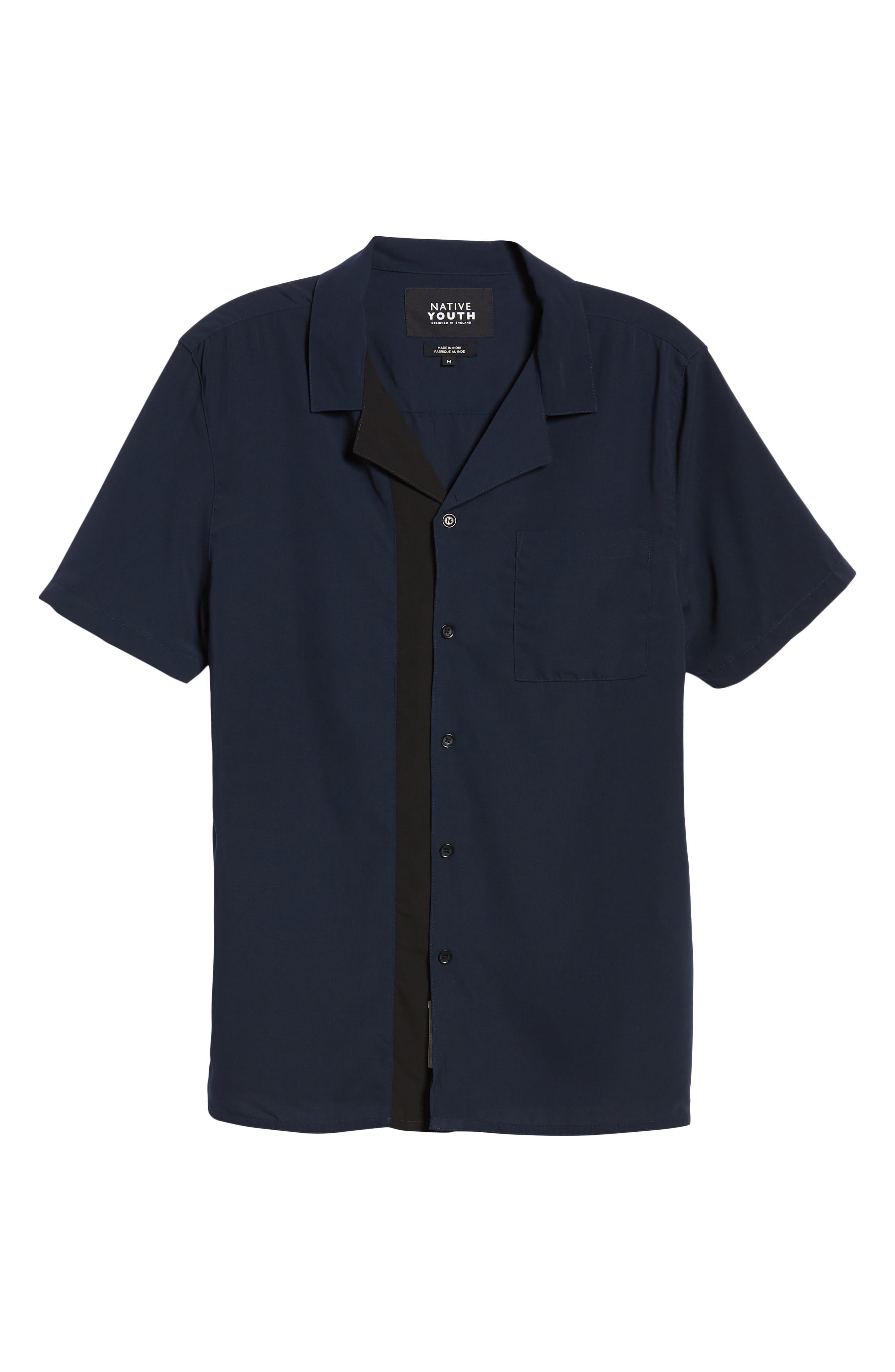 York Woven Shirt,                             Alternate thumbnail 5, color,                             400