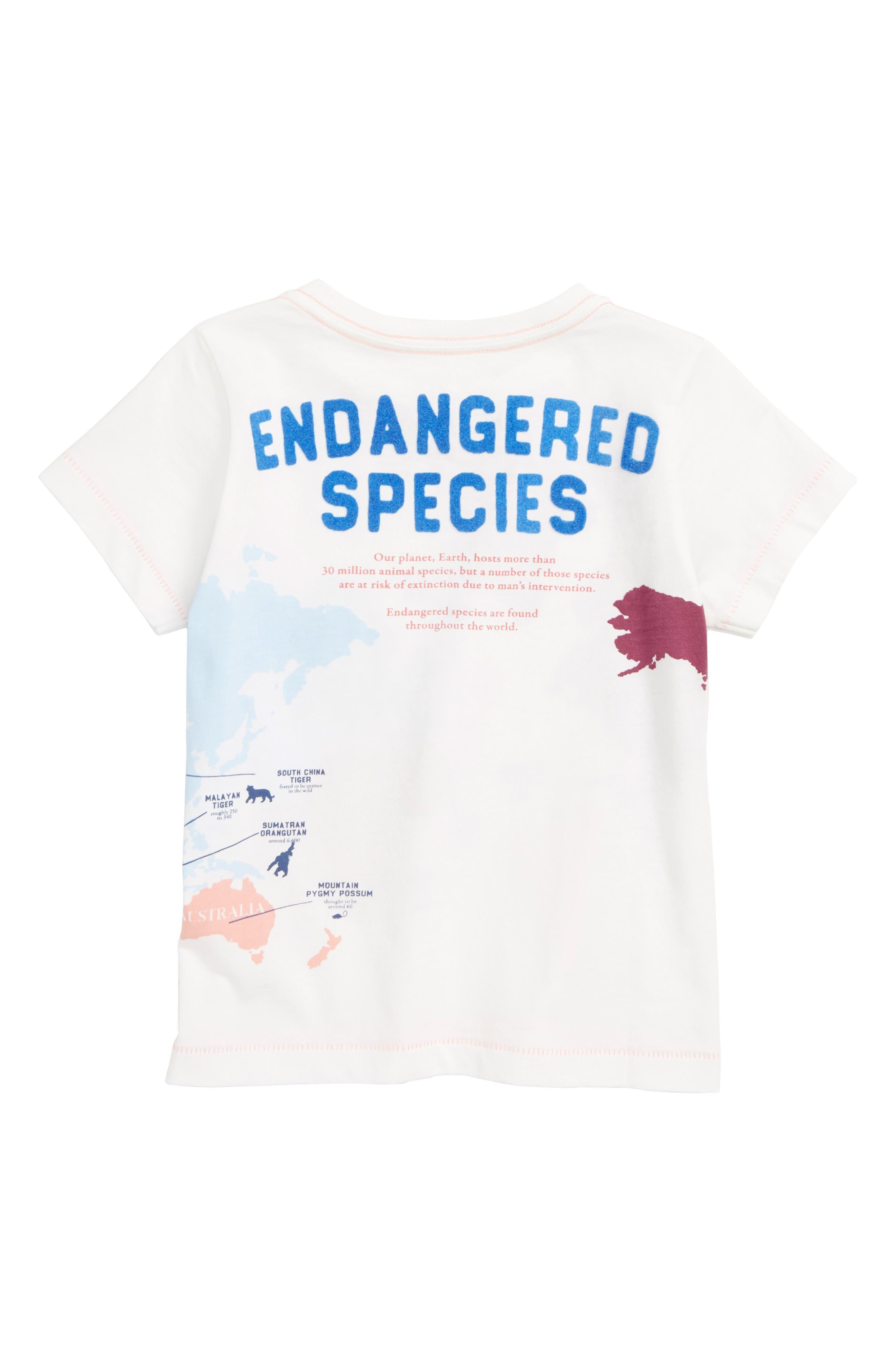 Peek Endangered Graphic Tee,                             Alternate thumbnail 2, color,                             900