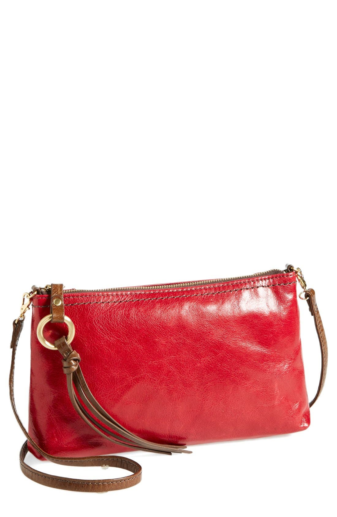 'Darcy' Leather Crossbody Bag,                             Main thumbnail 24, color,