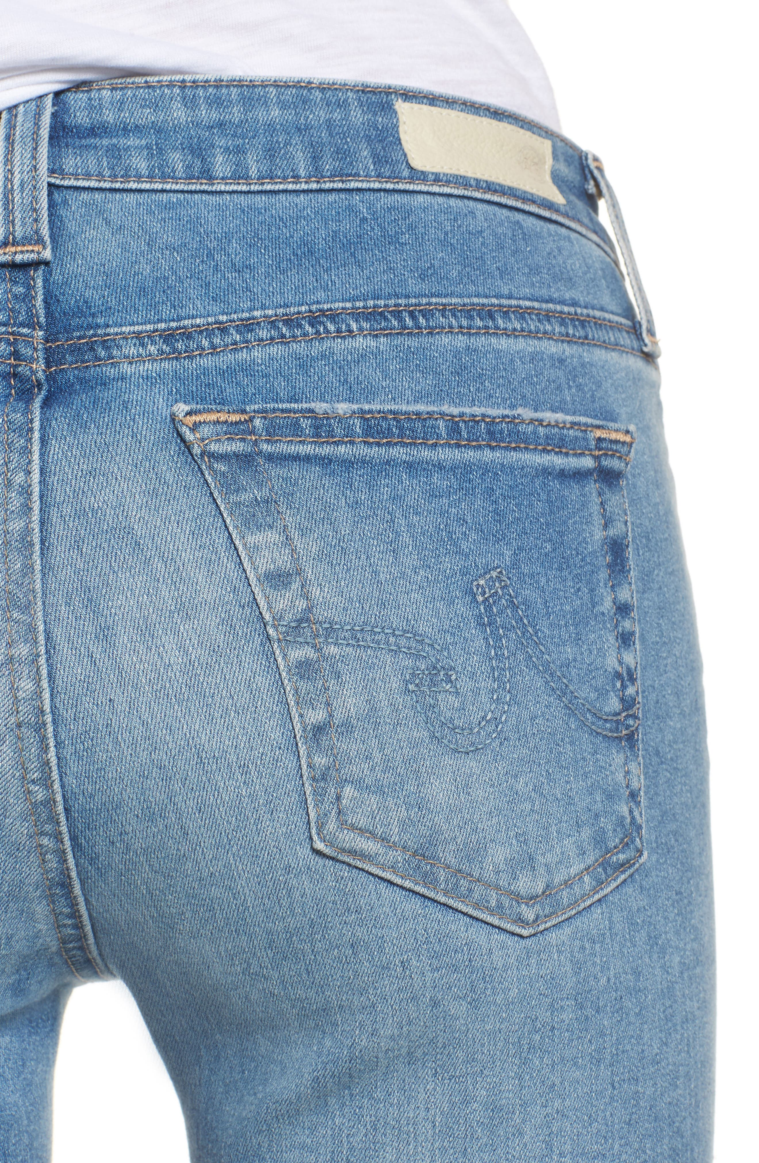 The Legging Super Skinny Jeans,                             Alternate thumbnail 4, color,