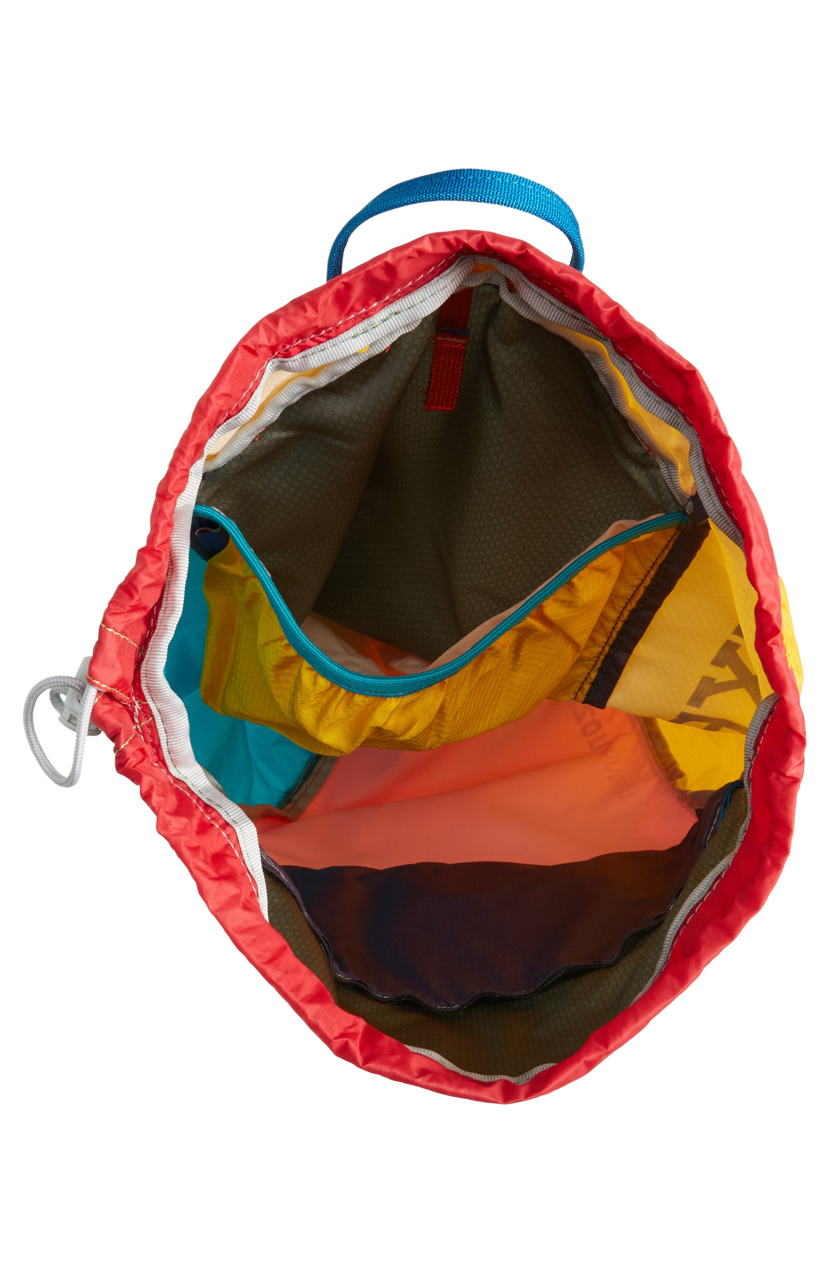Luzon Del Día One of a Kind Ripstop Nylon Daypack,                             Alternate thumbnail 4, color,                             ASSORTED