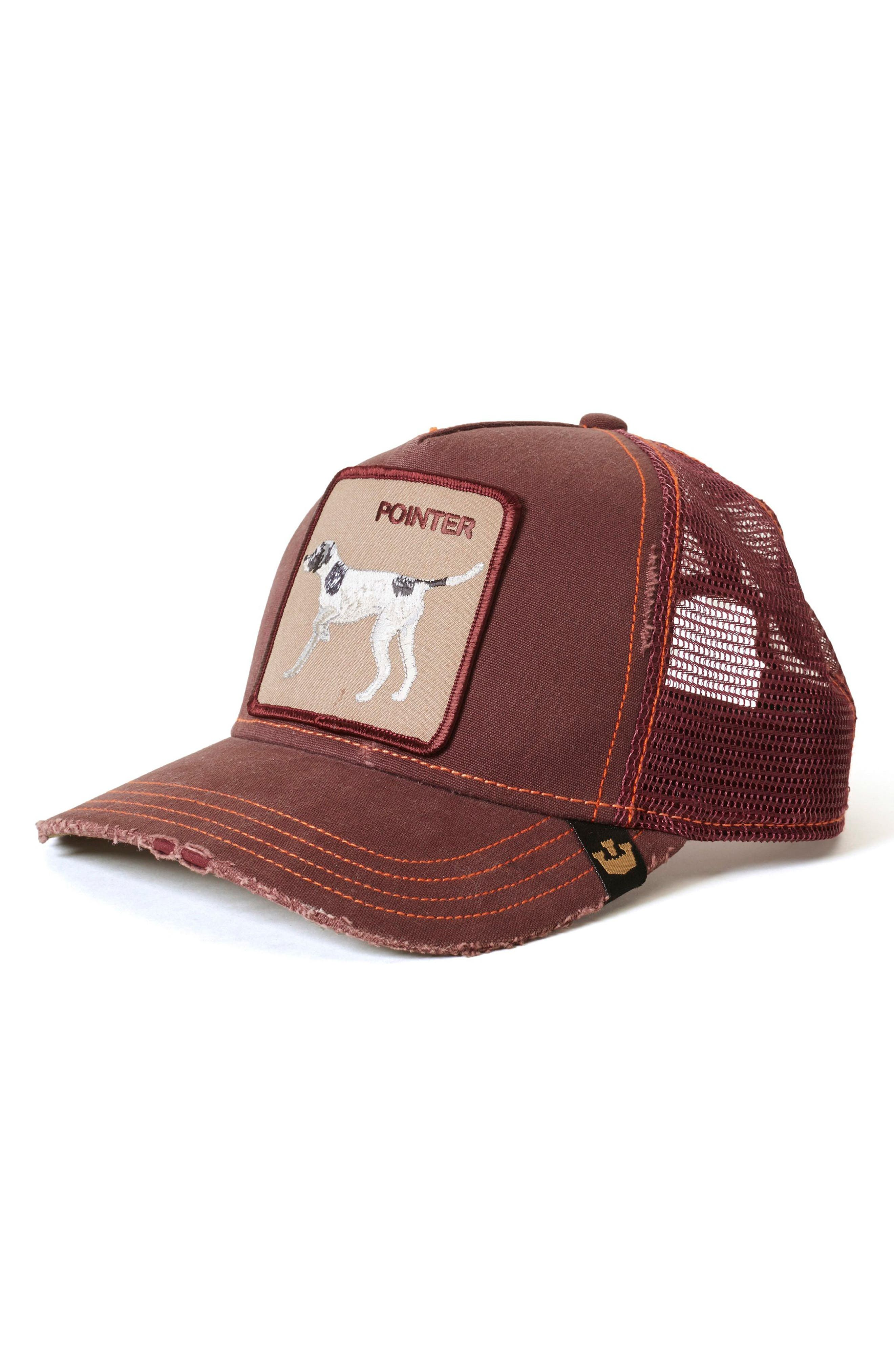 The Pointer Trucker Hat, Main, color, 600