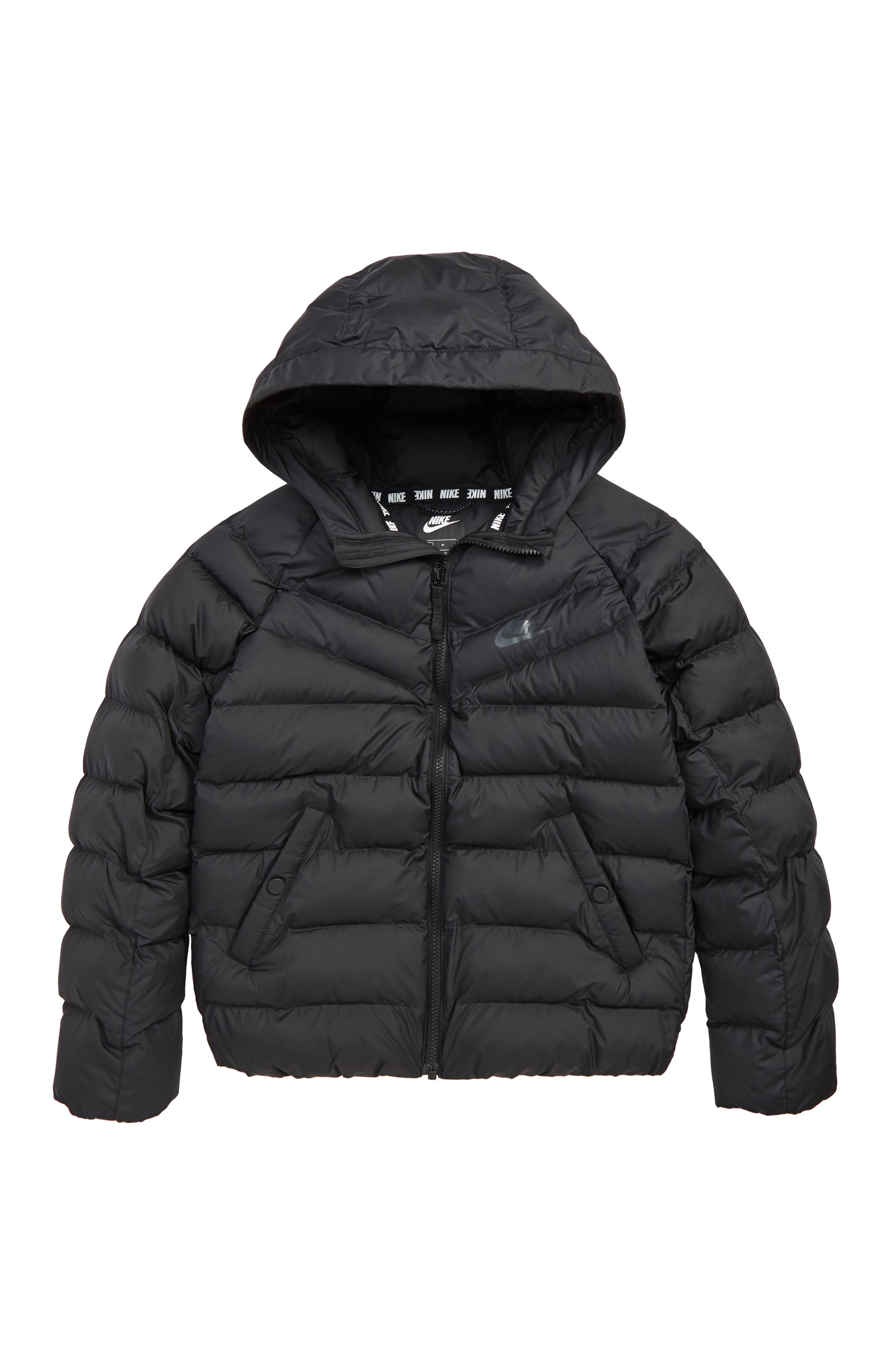 Boys Nike Sportswear Insulated Quilted Jacket