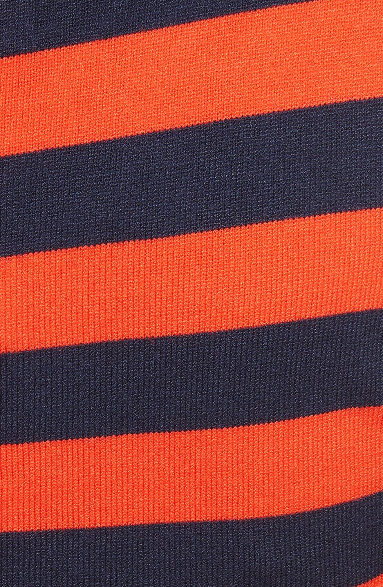 Stripe Ottoman Sweater Dress,                             Alternate thumbnail 5, color,                             477