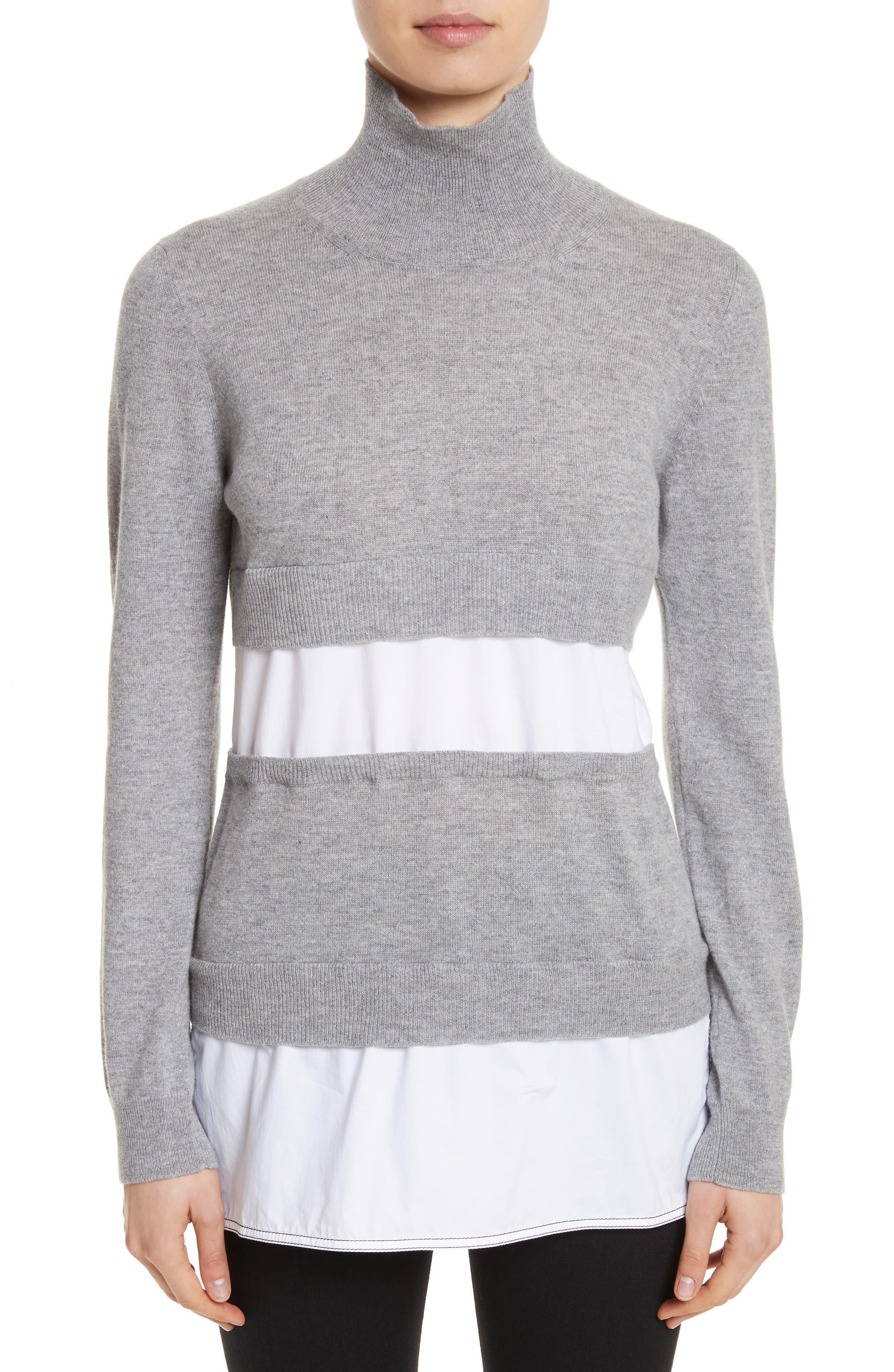 Turtleneck Sweater,                         Main,                         color, 020